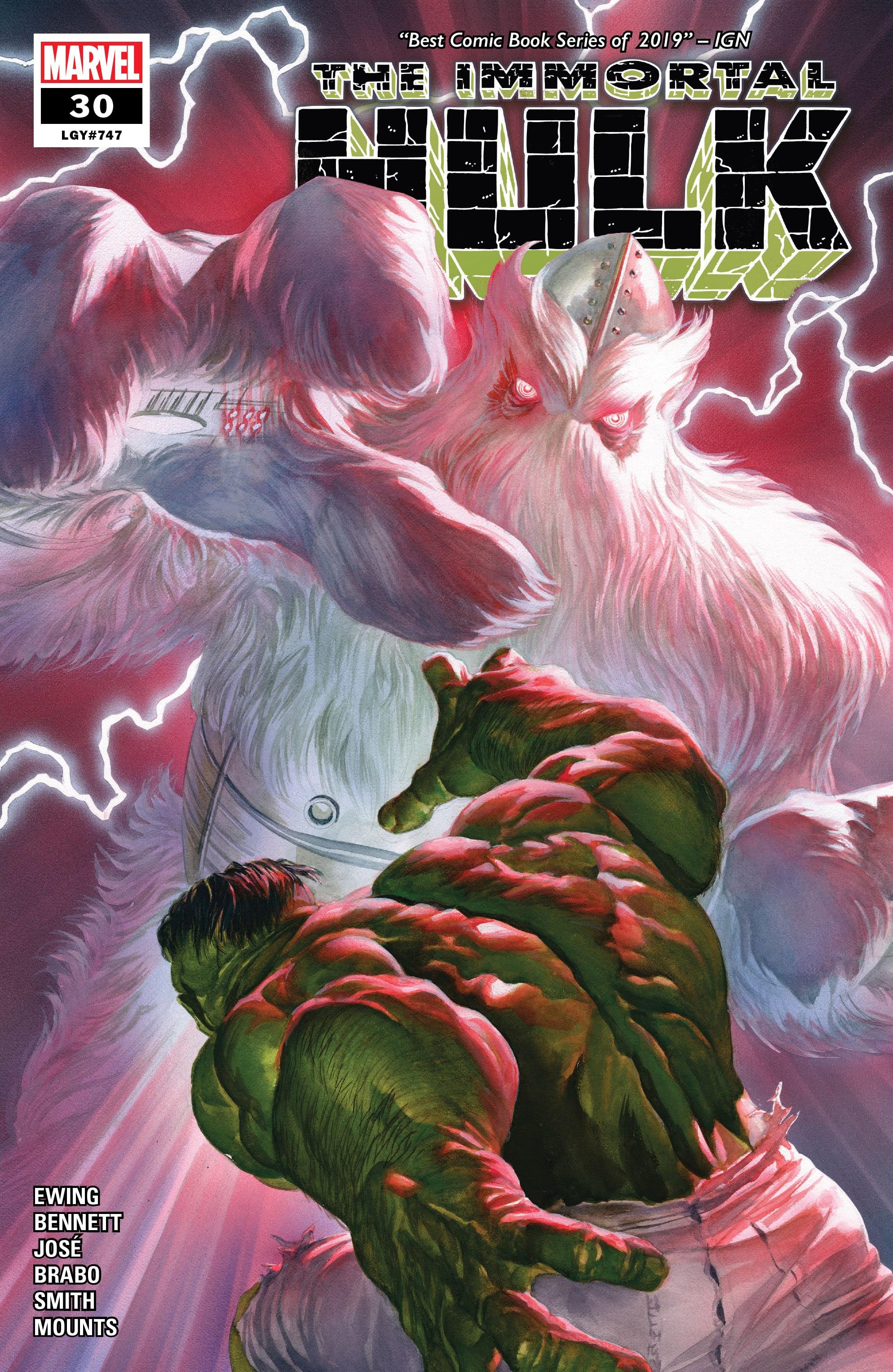Immortal Hulk (2018) issue 30 - Page 1