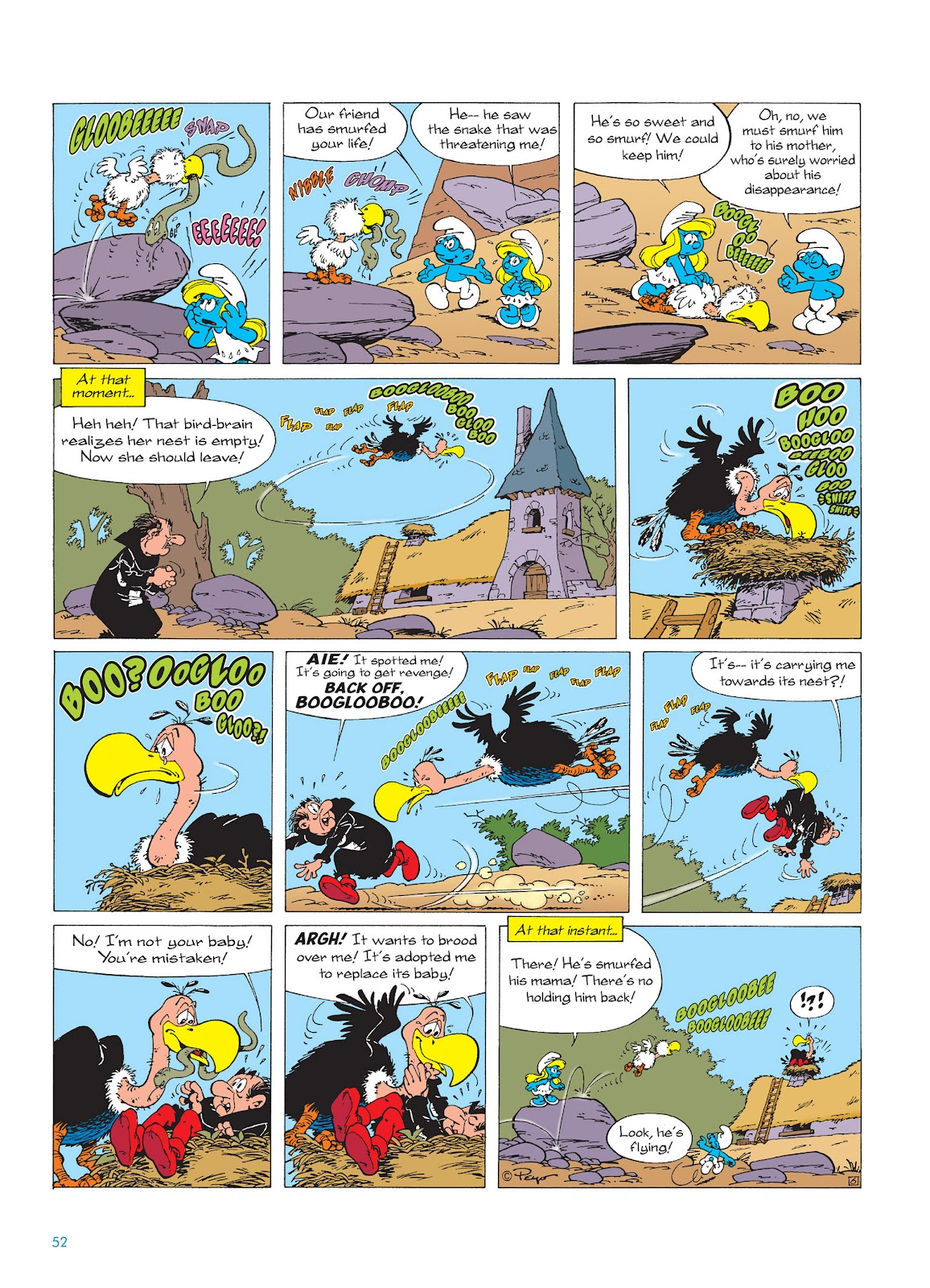 Read online The Smurfs comic -  Issue #15 - 53