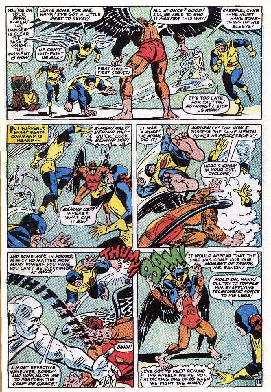 Read online Uncanny X-Men (1963) comic -  Issue #69 - 41