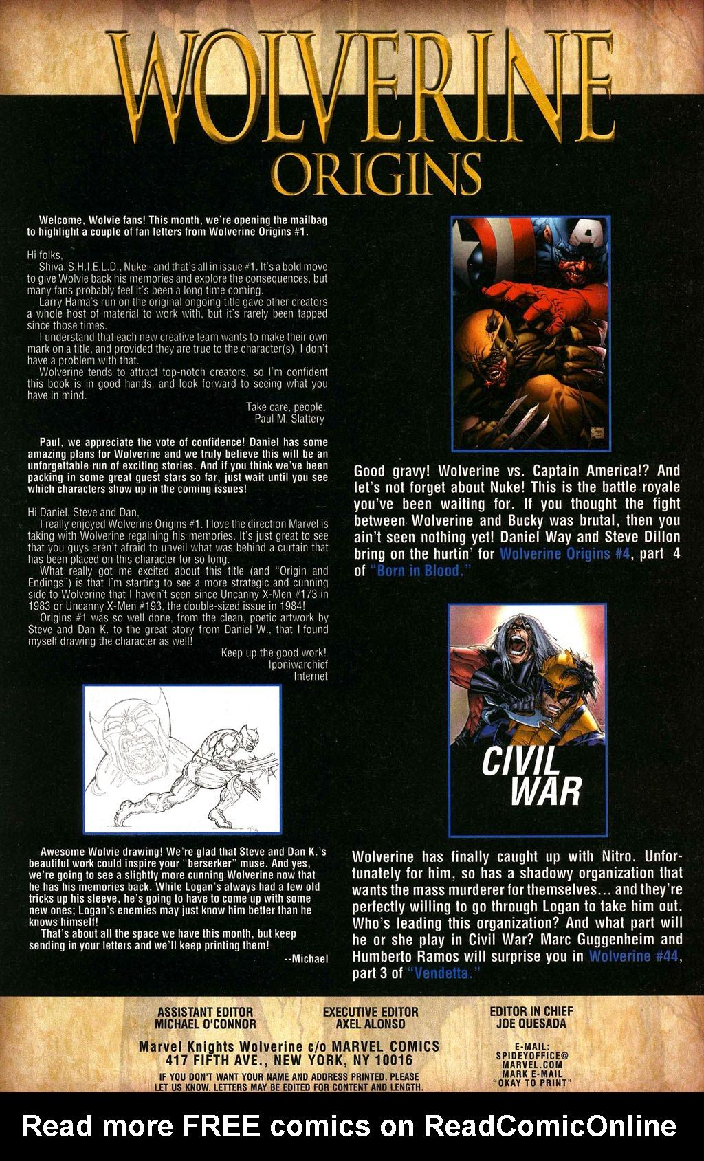 Read online Wolverine: Origins comic -  Issue #3 - 25