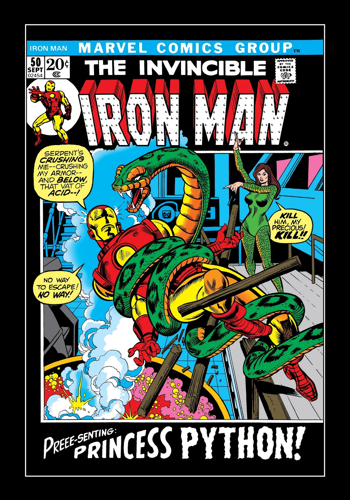 Read online Marvel Masterworks: The Invincible Iron Man comic -  Issue # TPB 8 (Part 3) - 31
