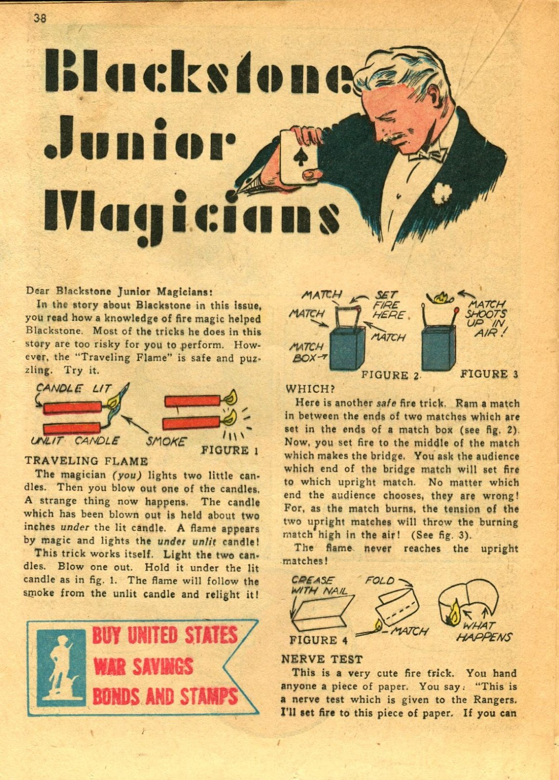 Read online Super-Magician Comics comic -  Issue #11 - 38