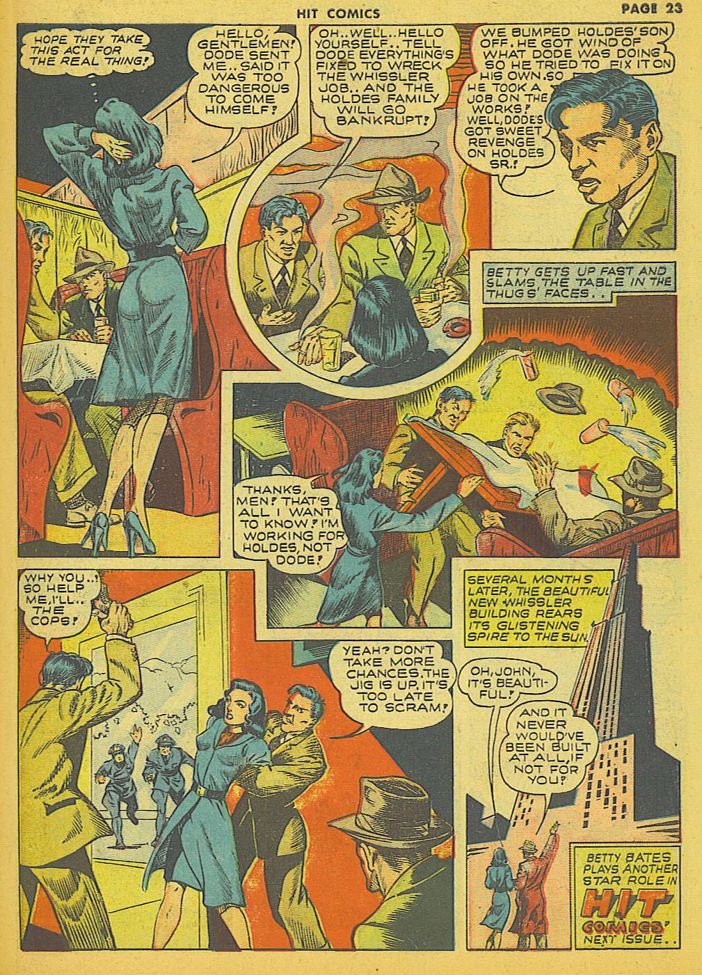 Read online Hit Comics comic -  Issue #21 - 25