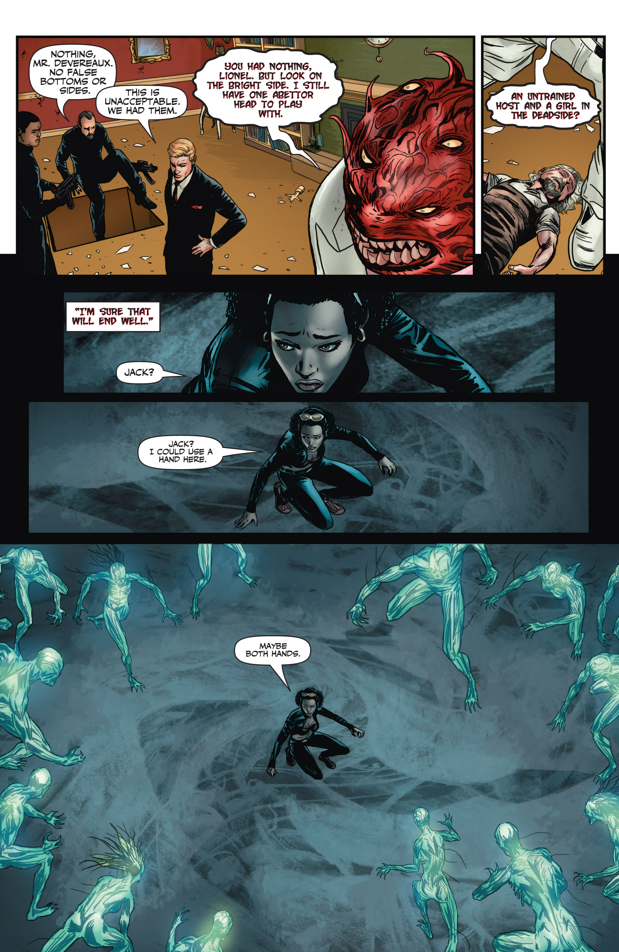 Read online Shadowman (2012) comic -  Issue #3 - 9