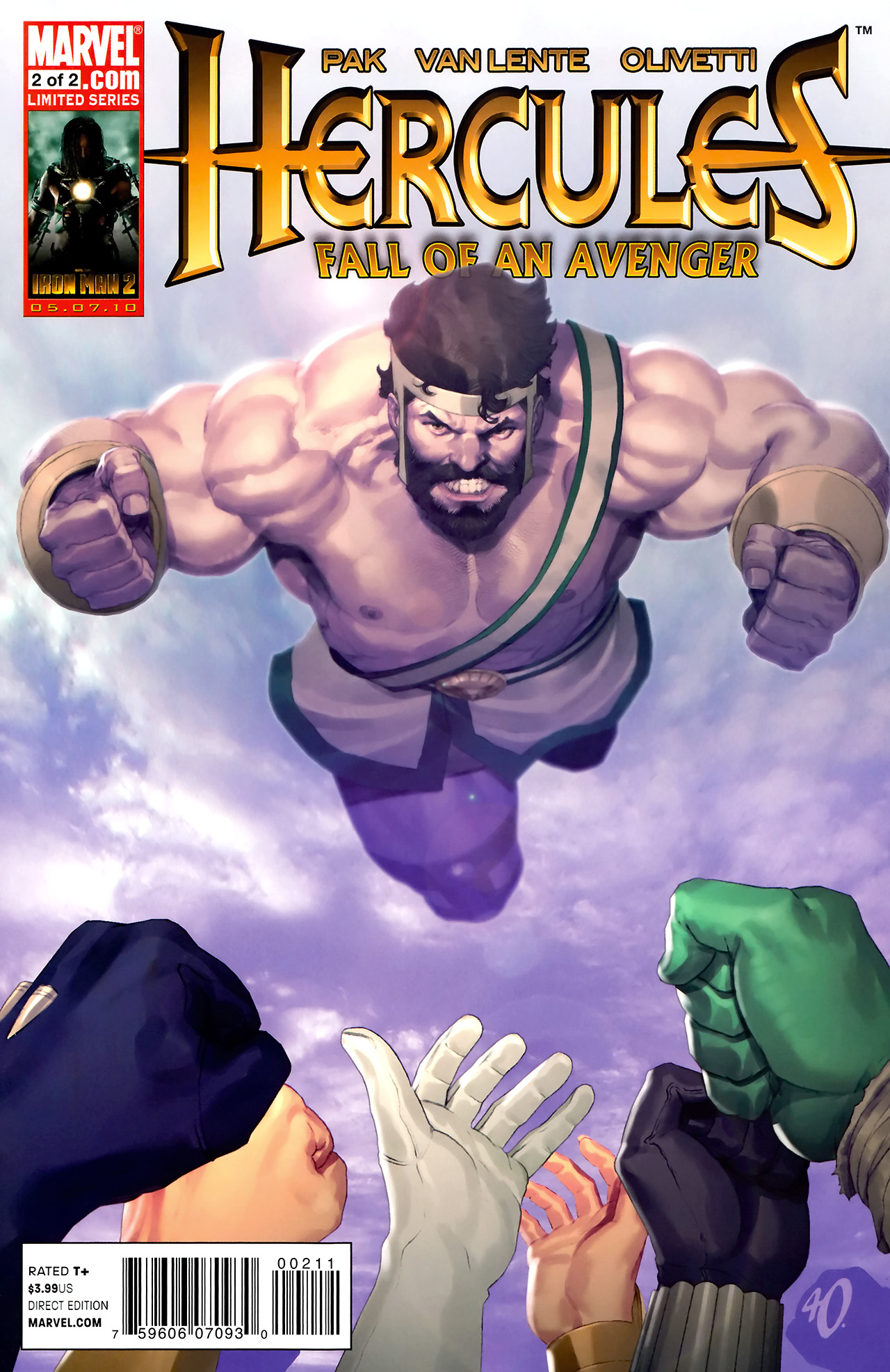 Hercules: Fall of an Avenger 2 Page 1