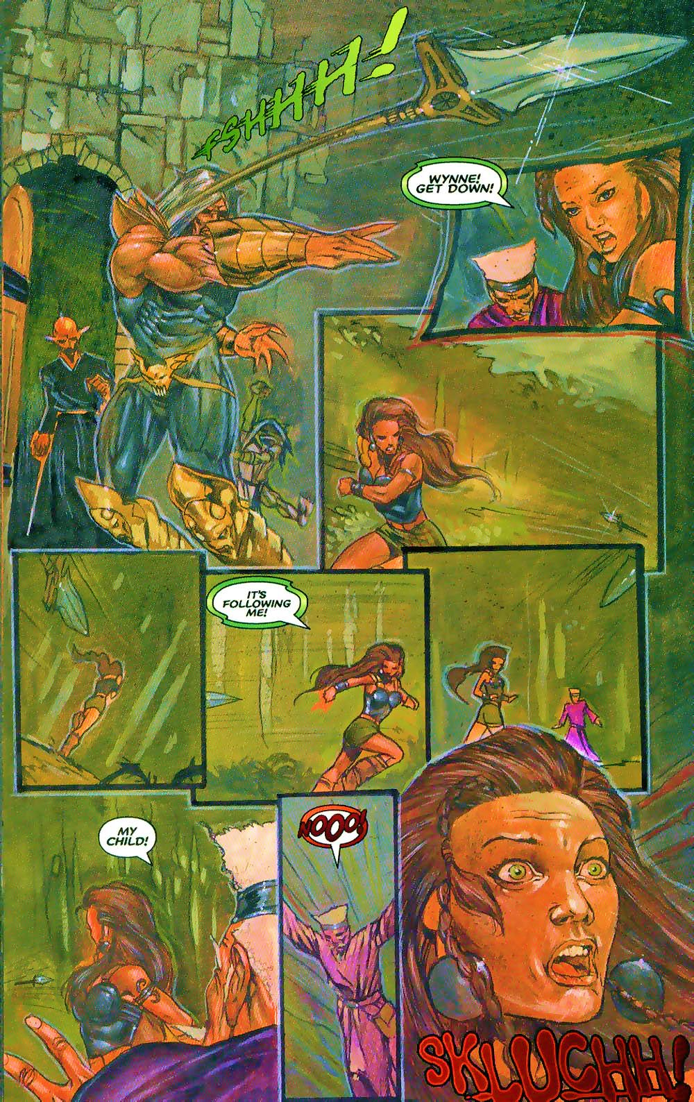 More Than Mortal: Sagas issue 3 - Page 14
