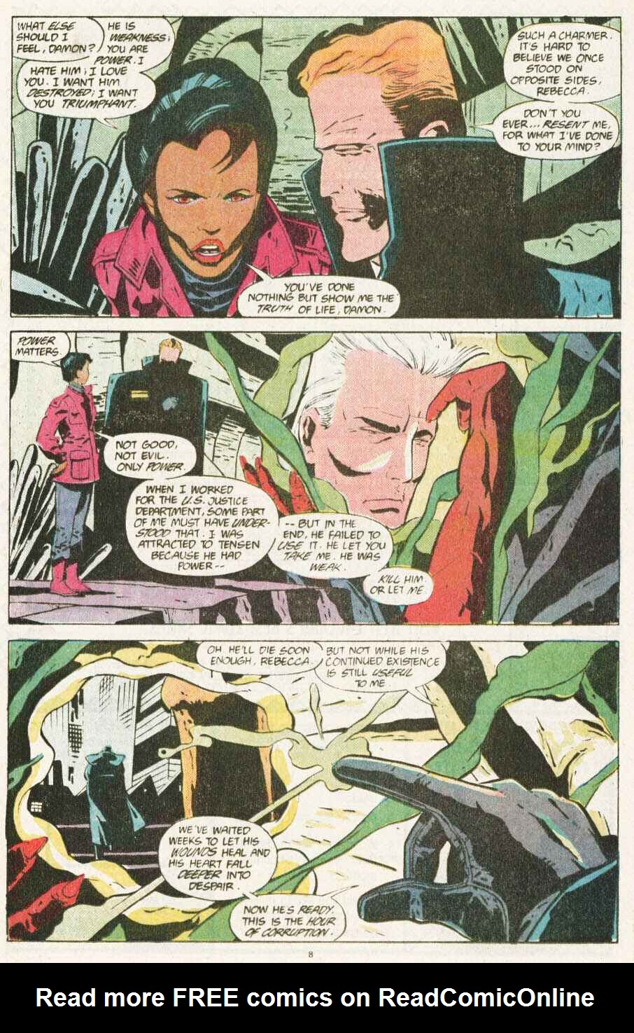 Read online Justice (1986) comic -  Issue #10 - 9
