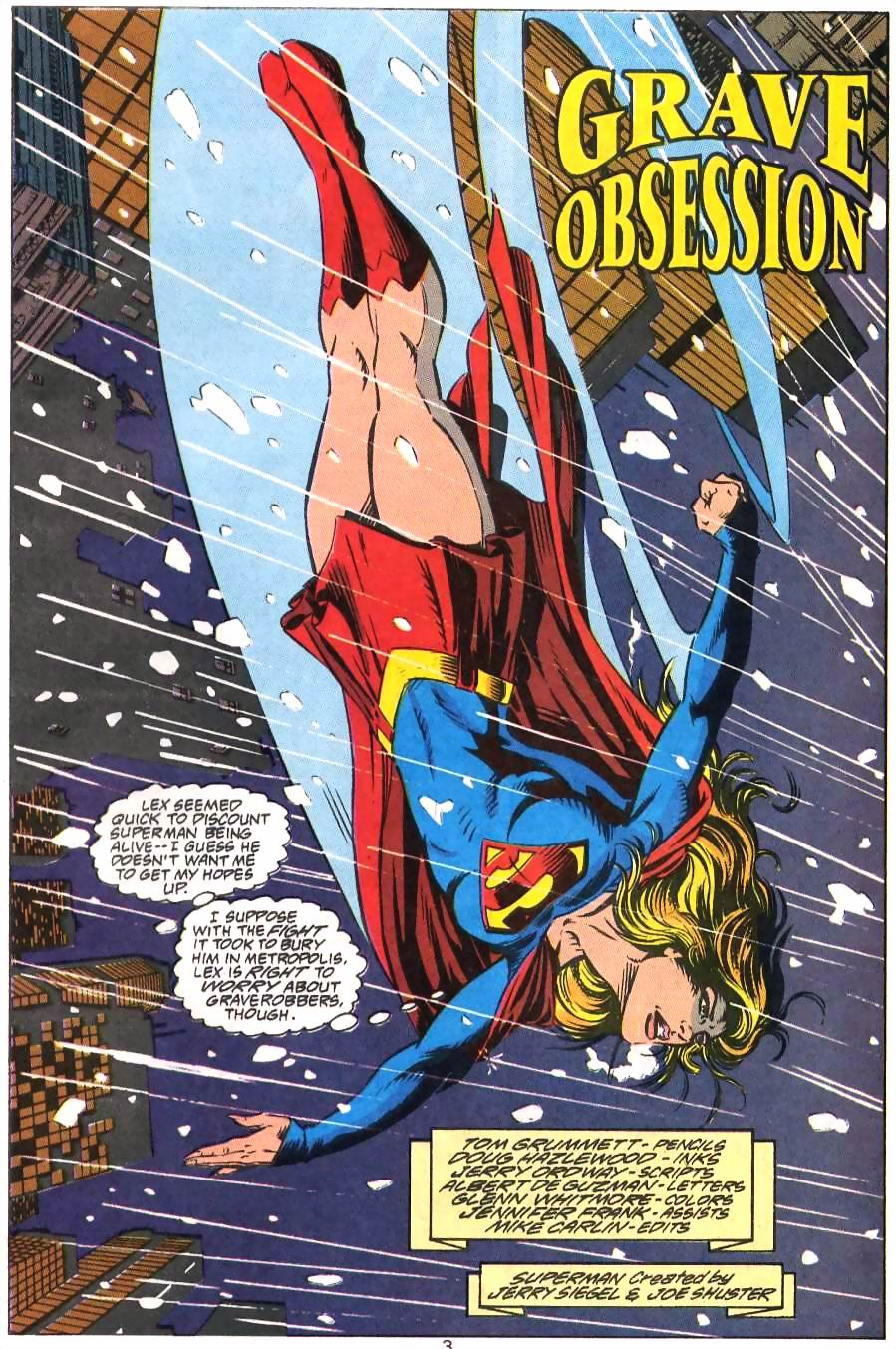 Read online Adventures of Superman (1987) comic -  Issue #499 - 4