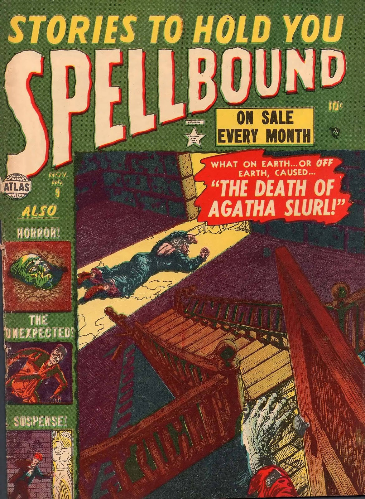 Spellbound (1952) issue 9 - Page 1