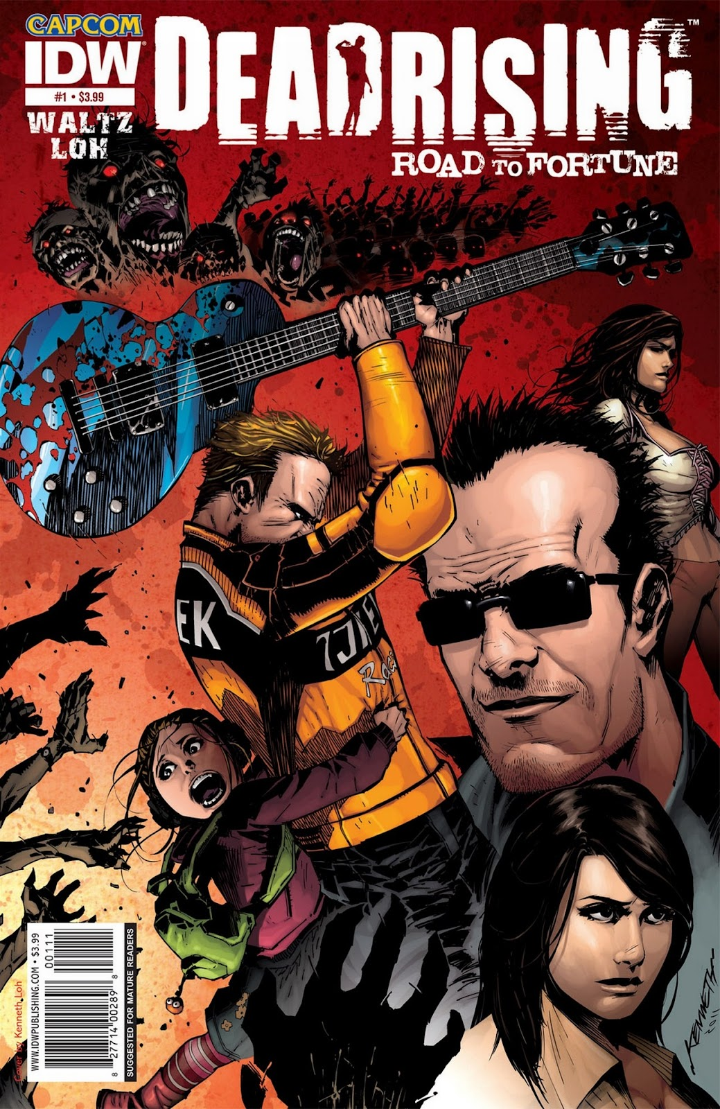 Read online Dead Rising: Road to Fortune comic -  Issue #1 - 1