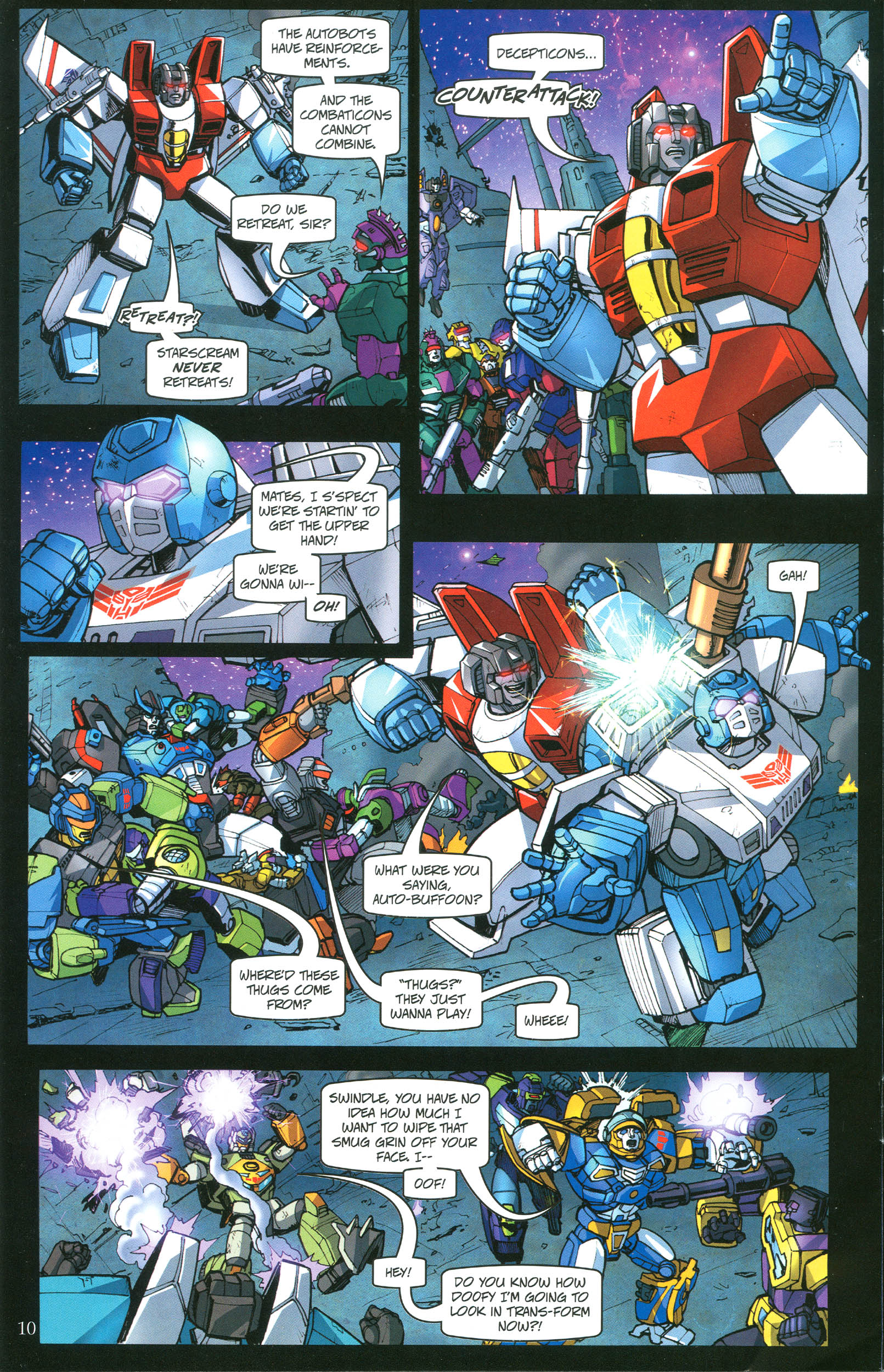 Read online Transformers: Collectors' Club comic -  Issue #40 - 10