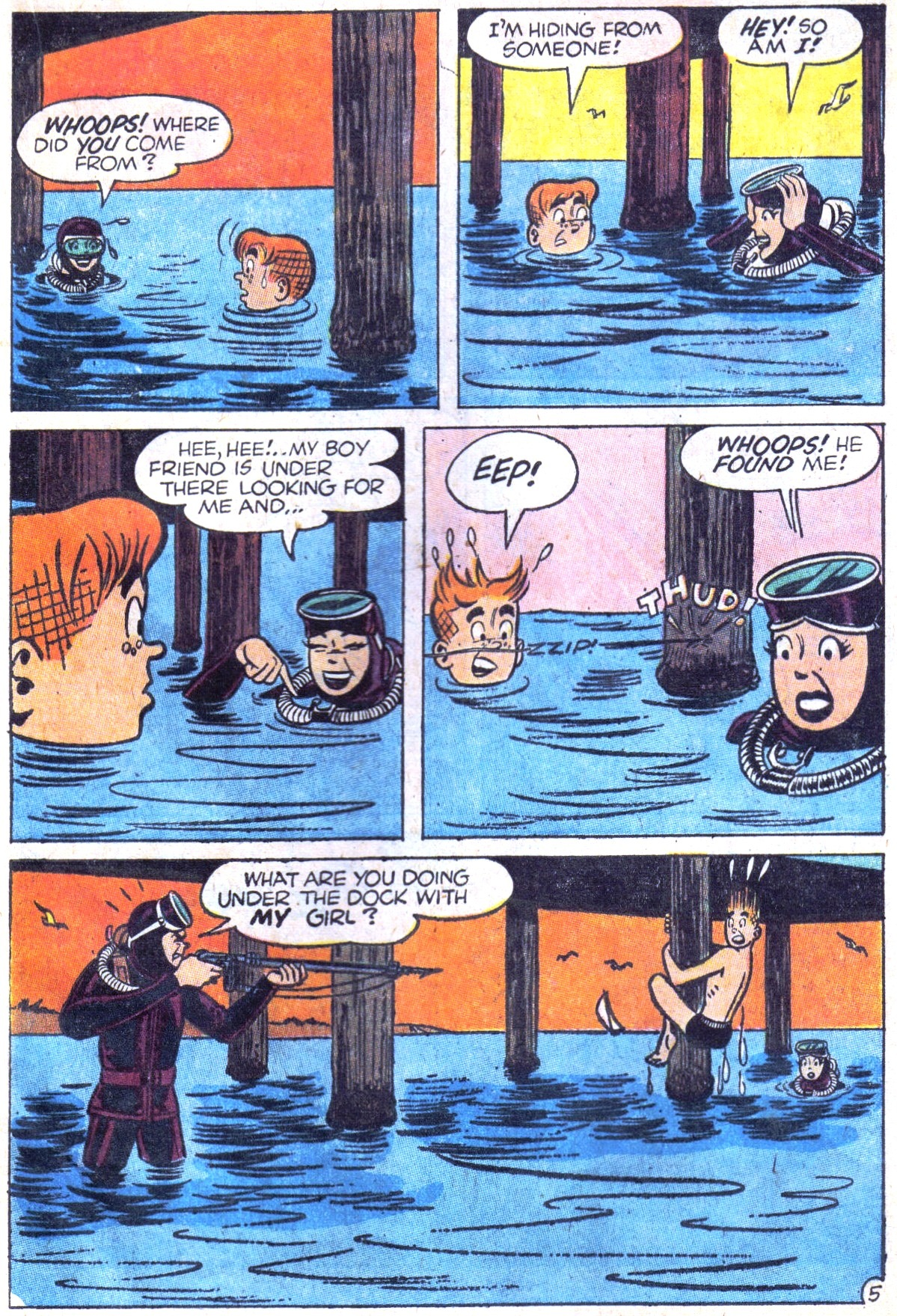 Read online Archie (1960) comic -  Issue #158 - 17