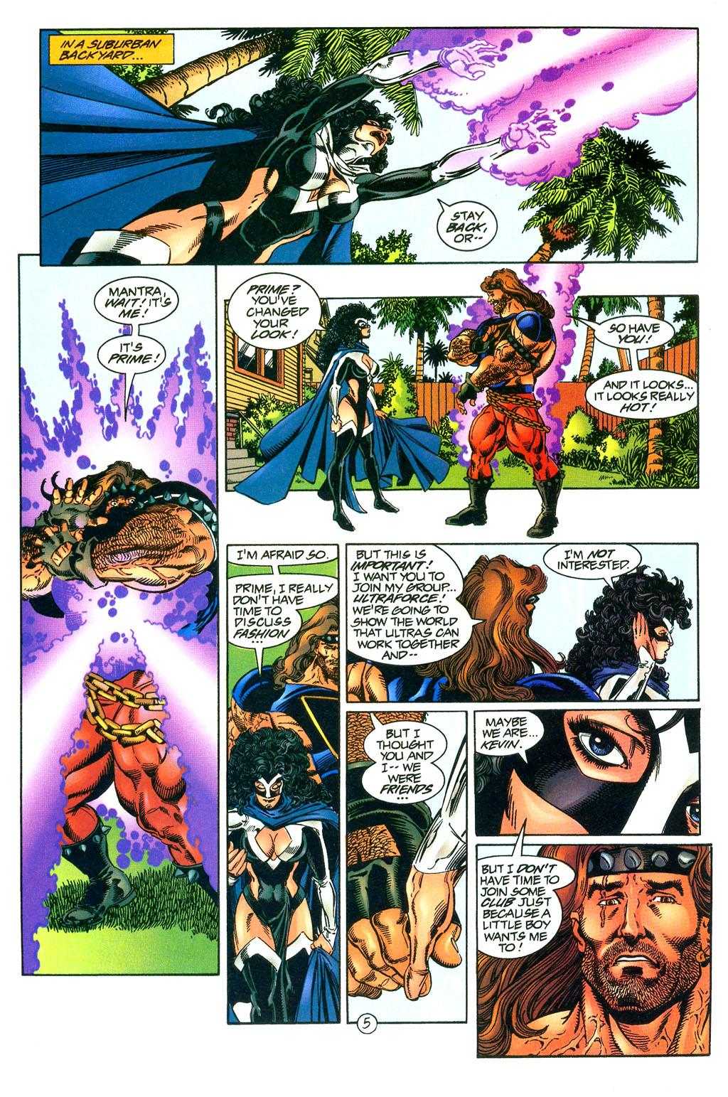 Read online UltraForce (1994) comic -  Issue #0 - 20