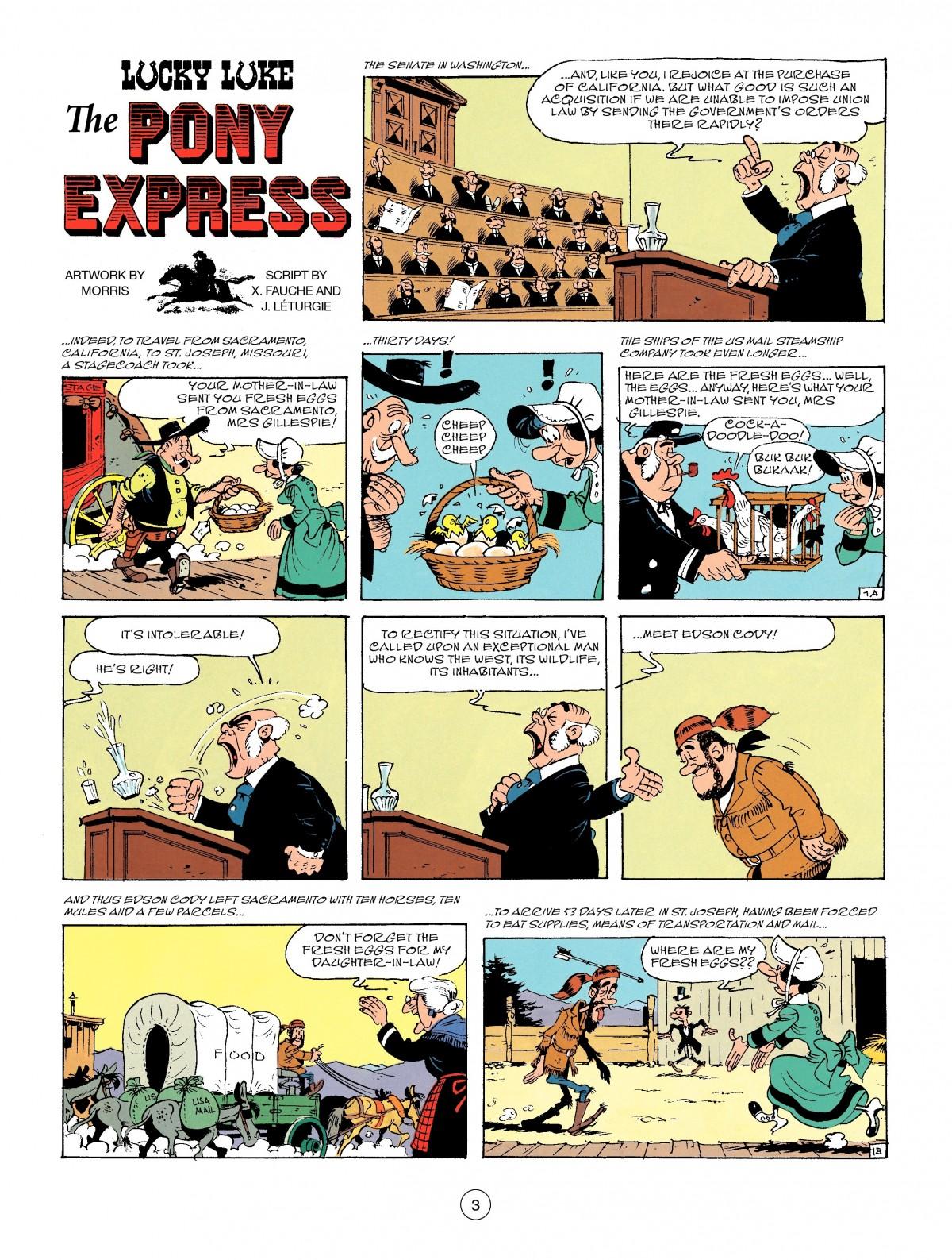 Read online A Lucky Luke Adventure comic -  Issue #46 - 3