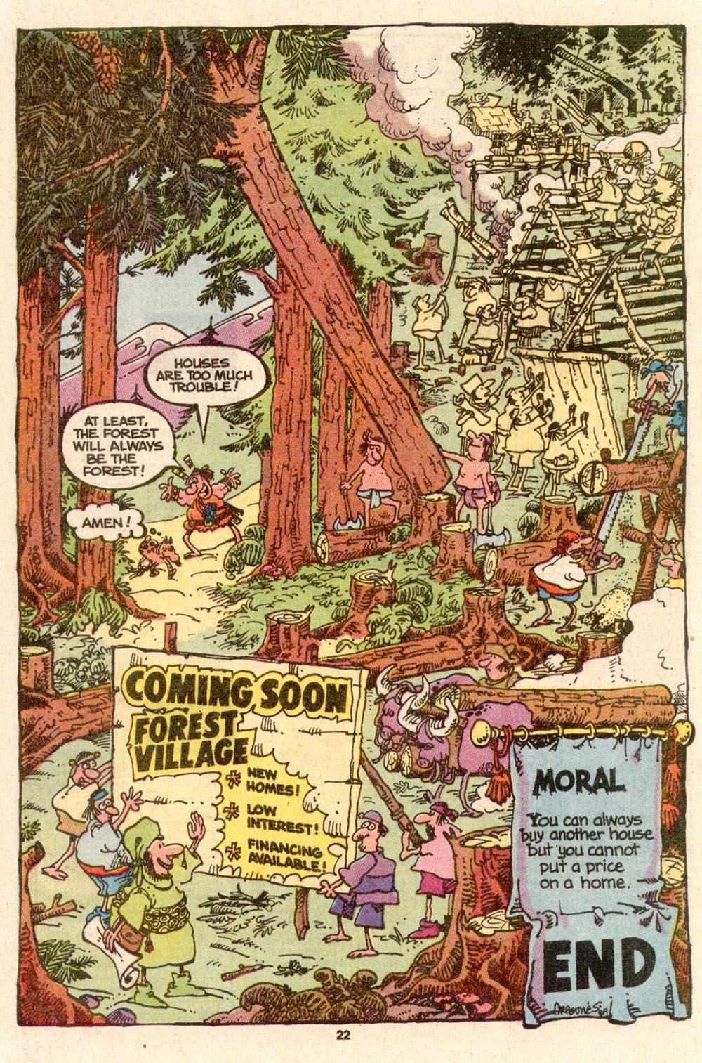 Read online Sergio Aragonés Groo the Wanderer comic -  Issue #63 - 23