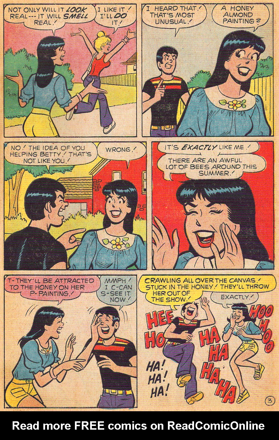 Read online Archie's Girls Betty and Veronica comic -  Issue #240 - 31