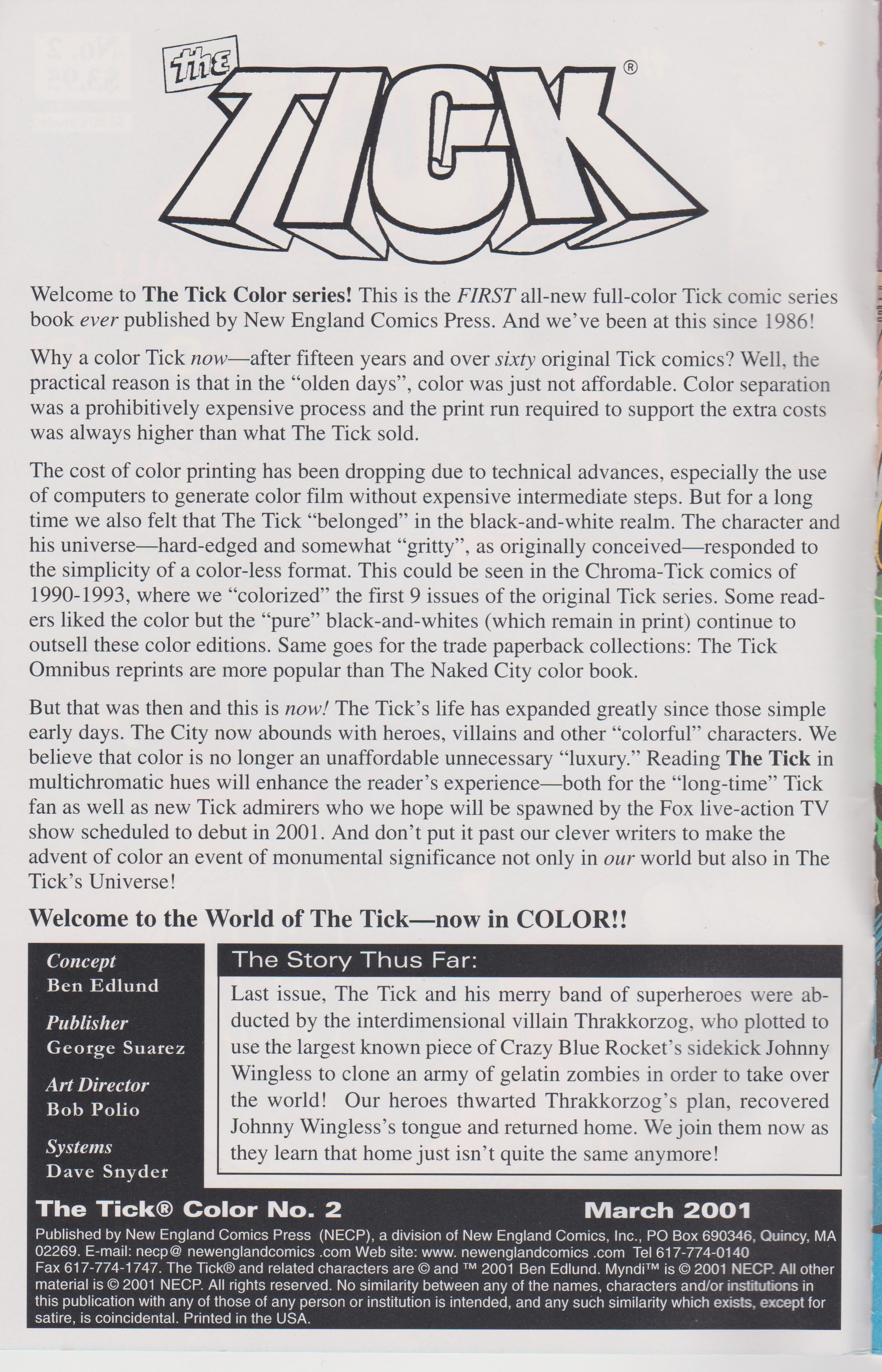 The Tick Color 2 Page 2