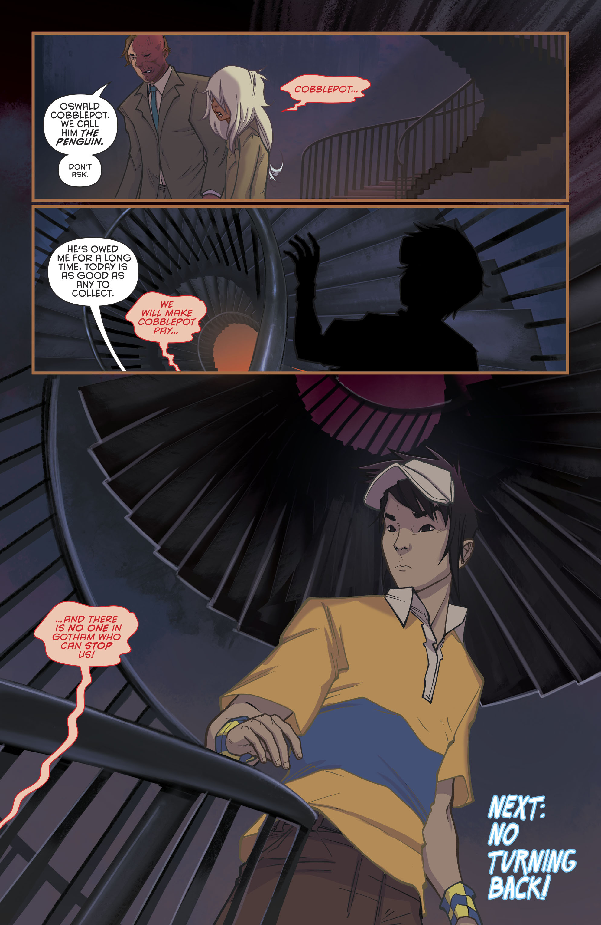 Read online Gotham Academy: Second Semester comic -  Issue #9 - 21