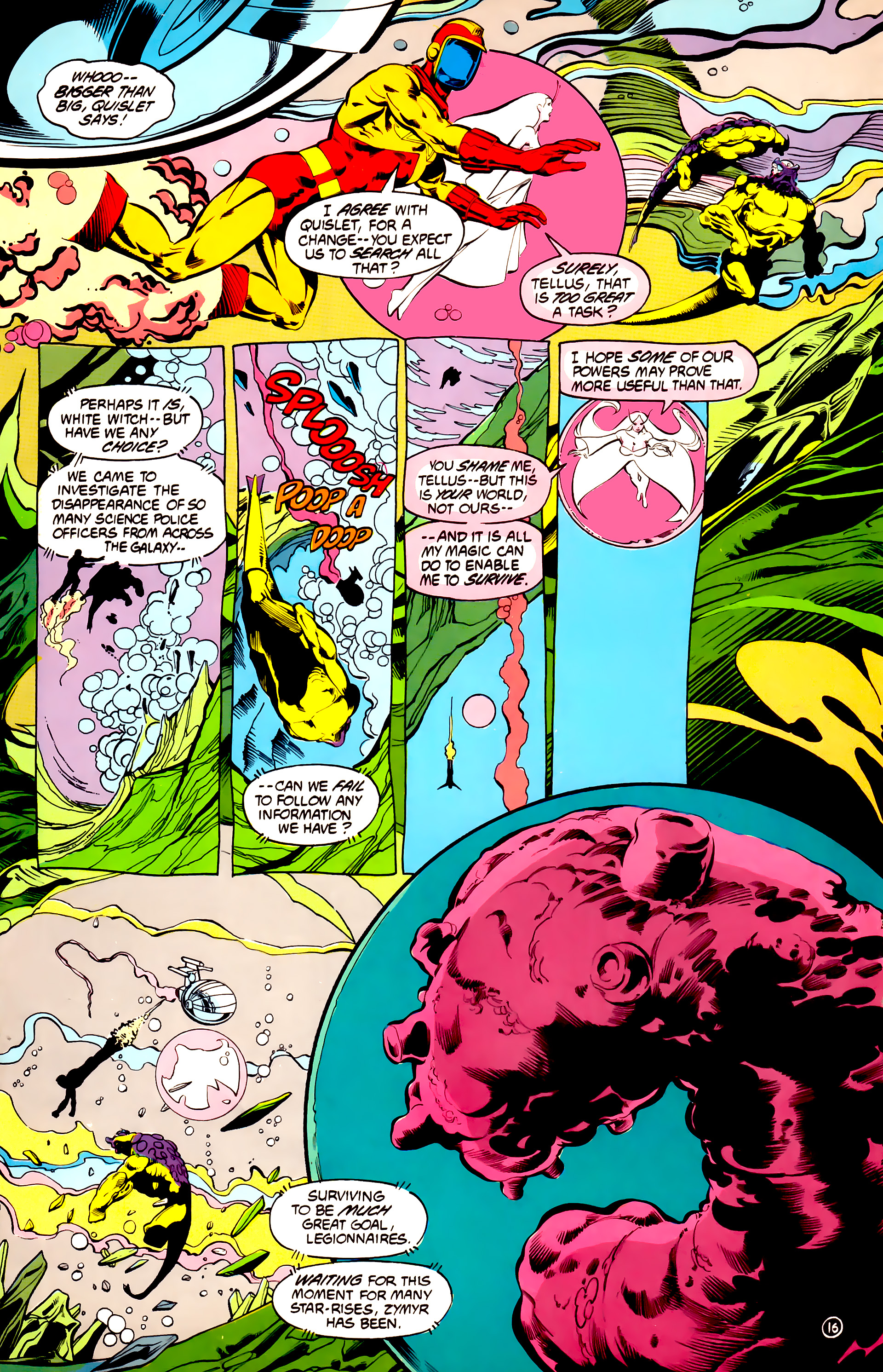 Legion of Super-Heroes (1984) 32 Page 15