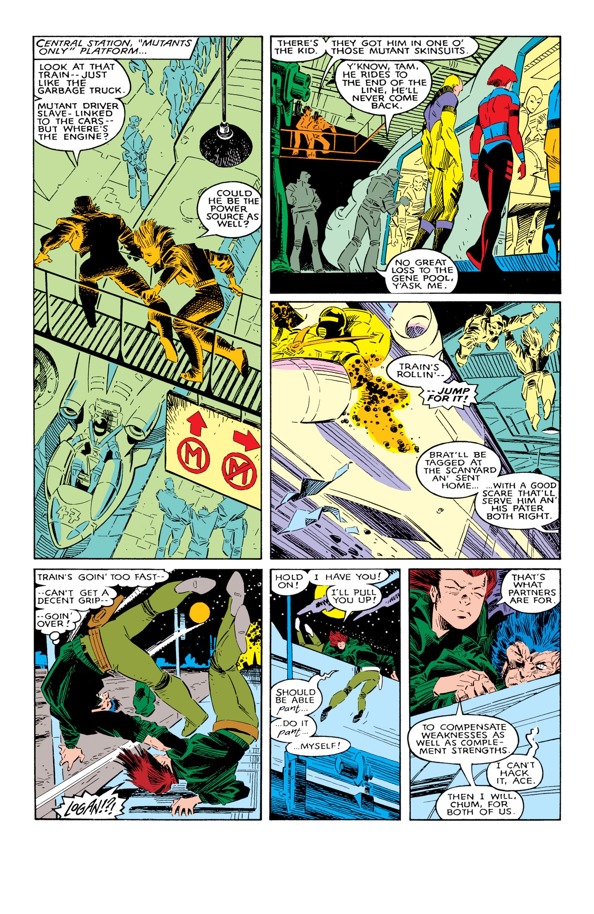 Read online Uncanny X-Men (1963) comic -  Issue #237 - 12
