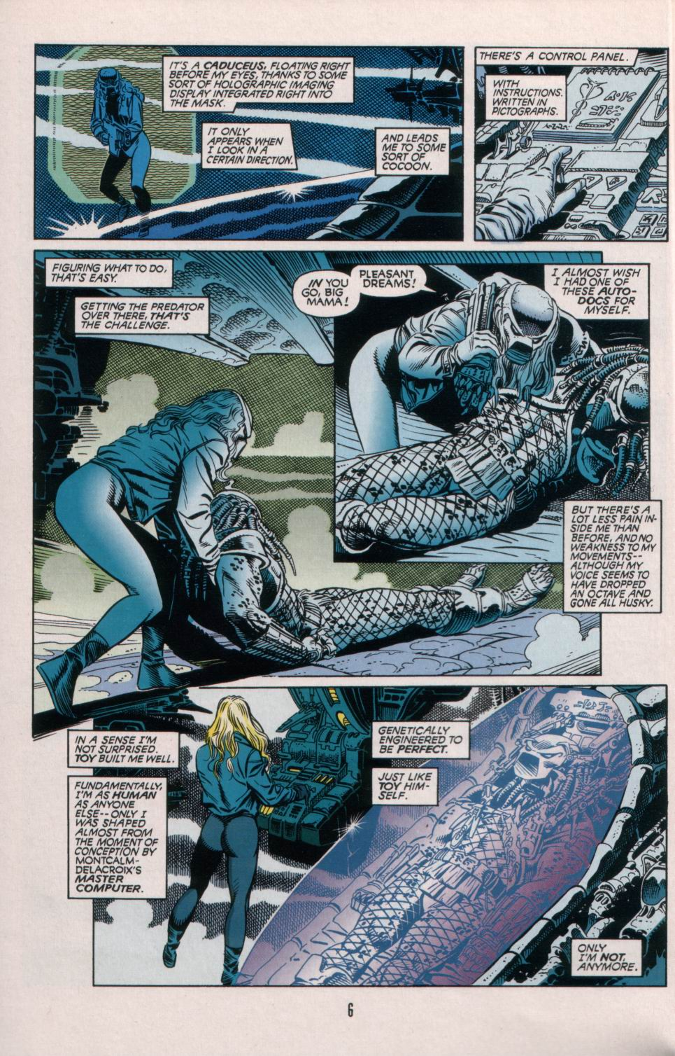 Read online Aliens/Predator: The Deadliest of the Species comic -  Issue #5 - 7