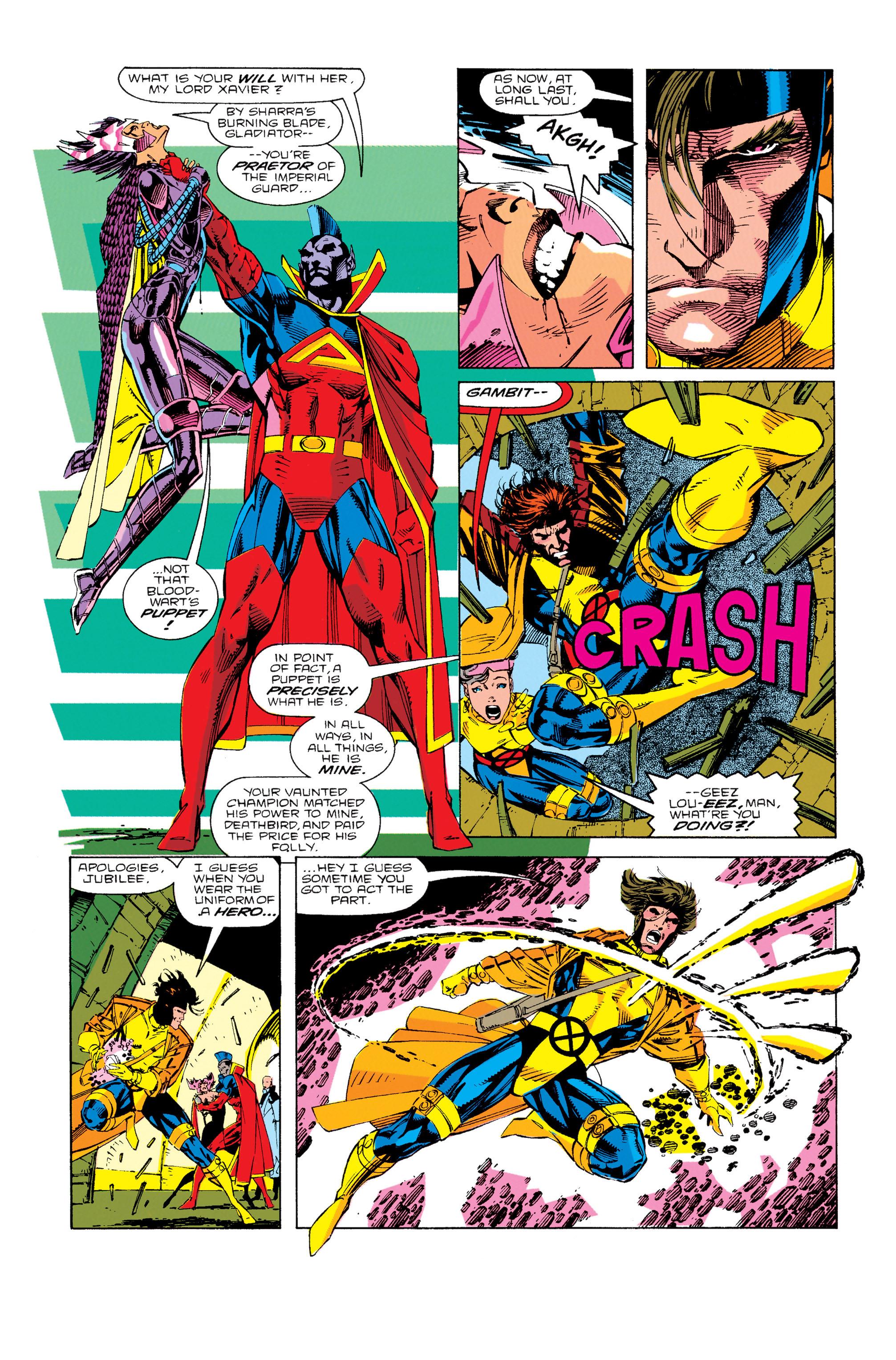 Read online Uncanny X-Men (1963) comic -  Issue #276 - 4