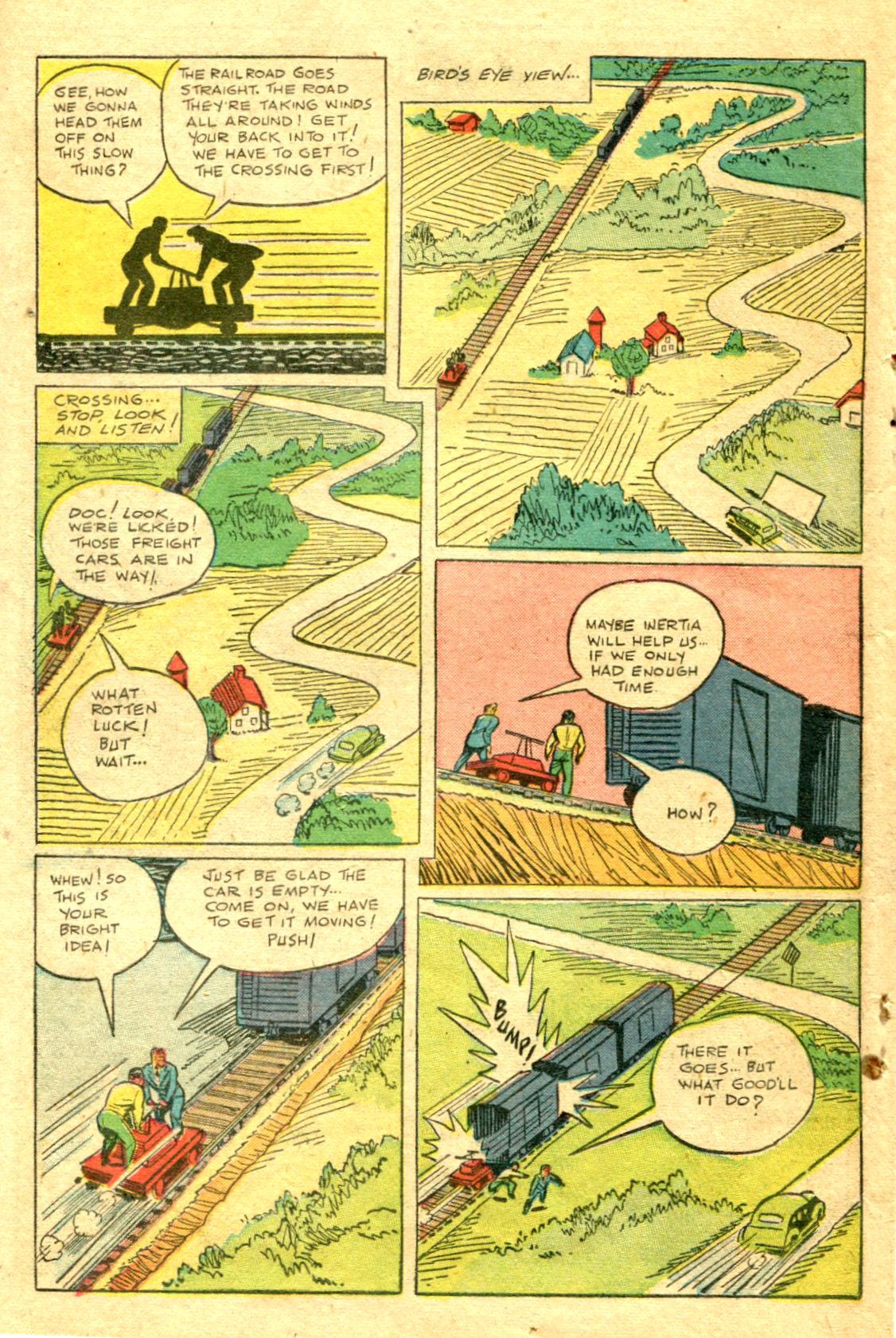 Read online Shadow Comics comic -  Issue #75 - 35