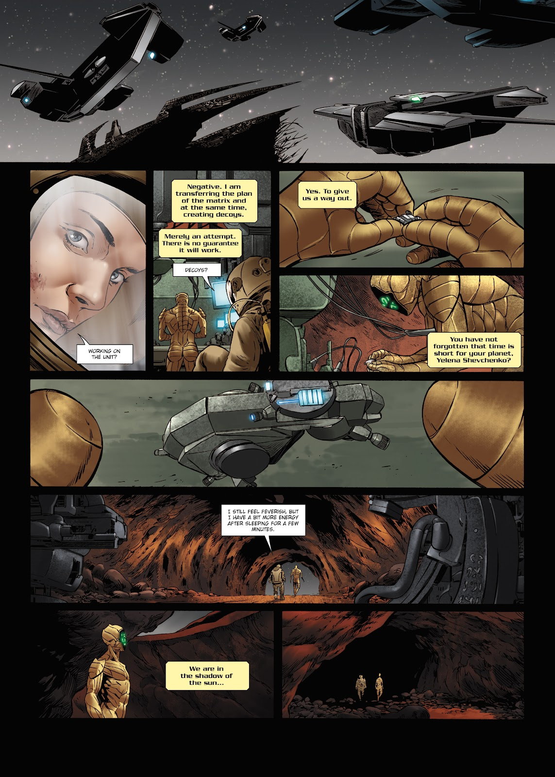 Read online Olympus Mons Vol. 1: Anomaly One comic -  Issue #5 - 29