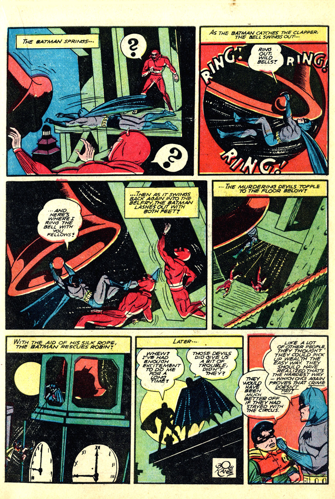 Read online Detective Comics (1937) comic -  Issue #50 - 15