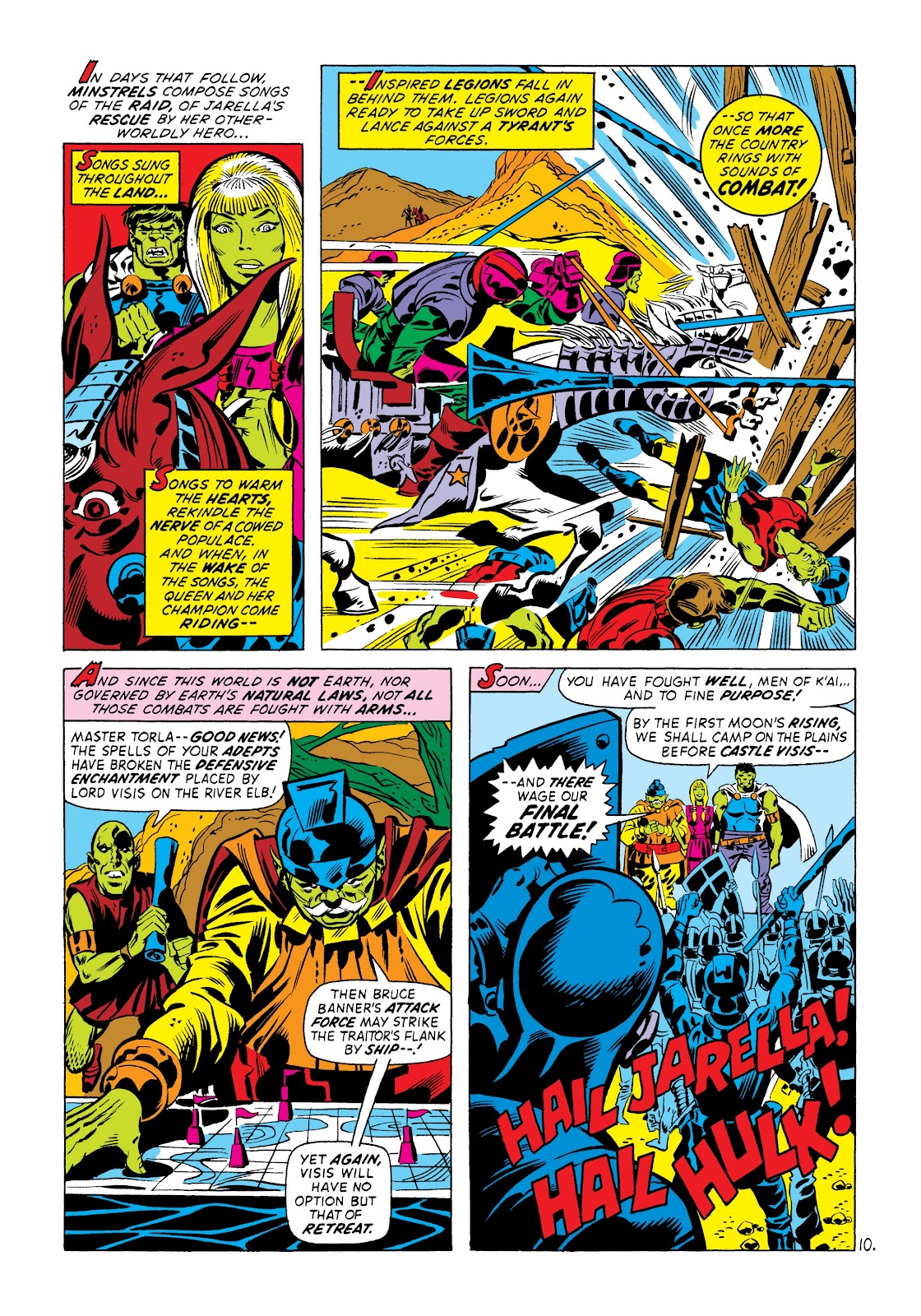 Read online Marvel Masterworks: The Incredible Hulk comic -  Issue # TPB 8 (Part 3) - 71