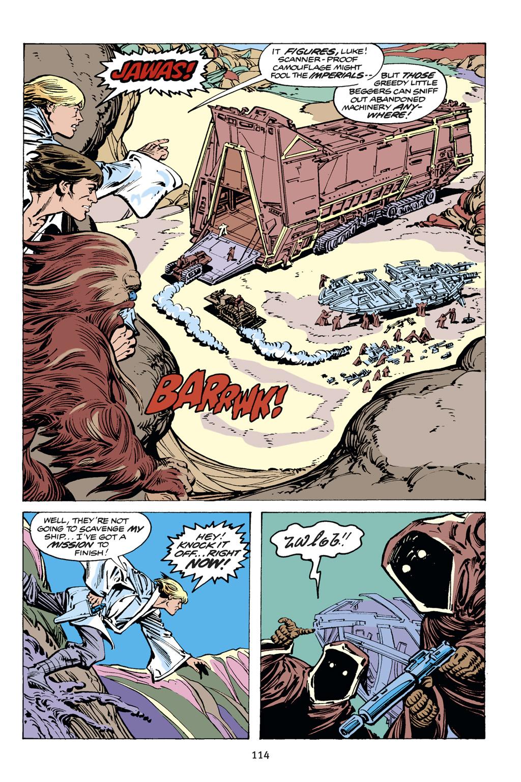 Read online Star Wars Omnibus comic -  Issue # Vol. 14 - 114
