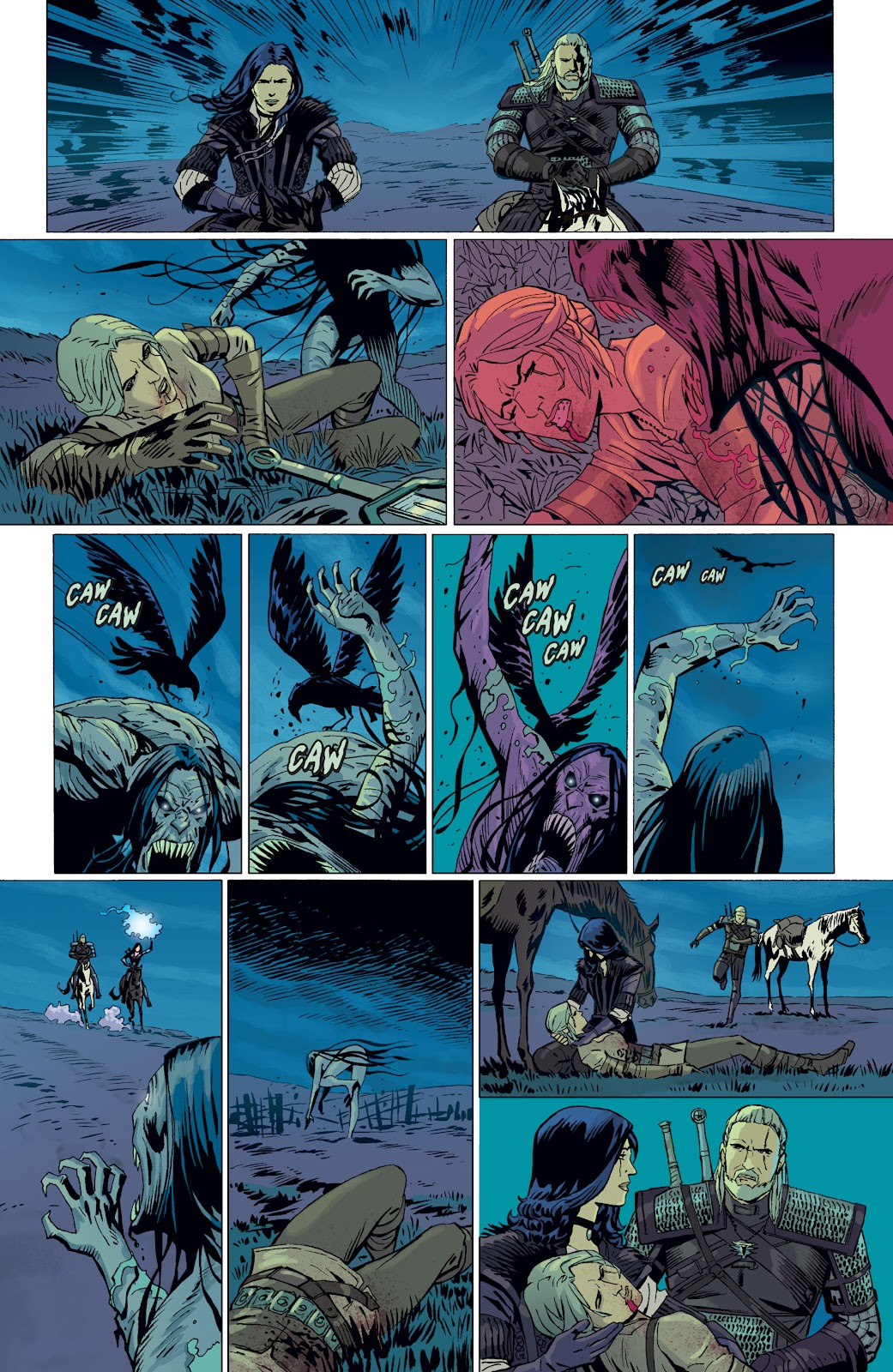 Read online The Witcher Omnibus comic -  Issue # TPB (Part 4) - 91
