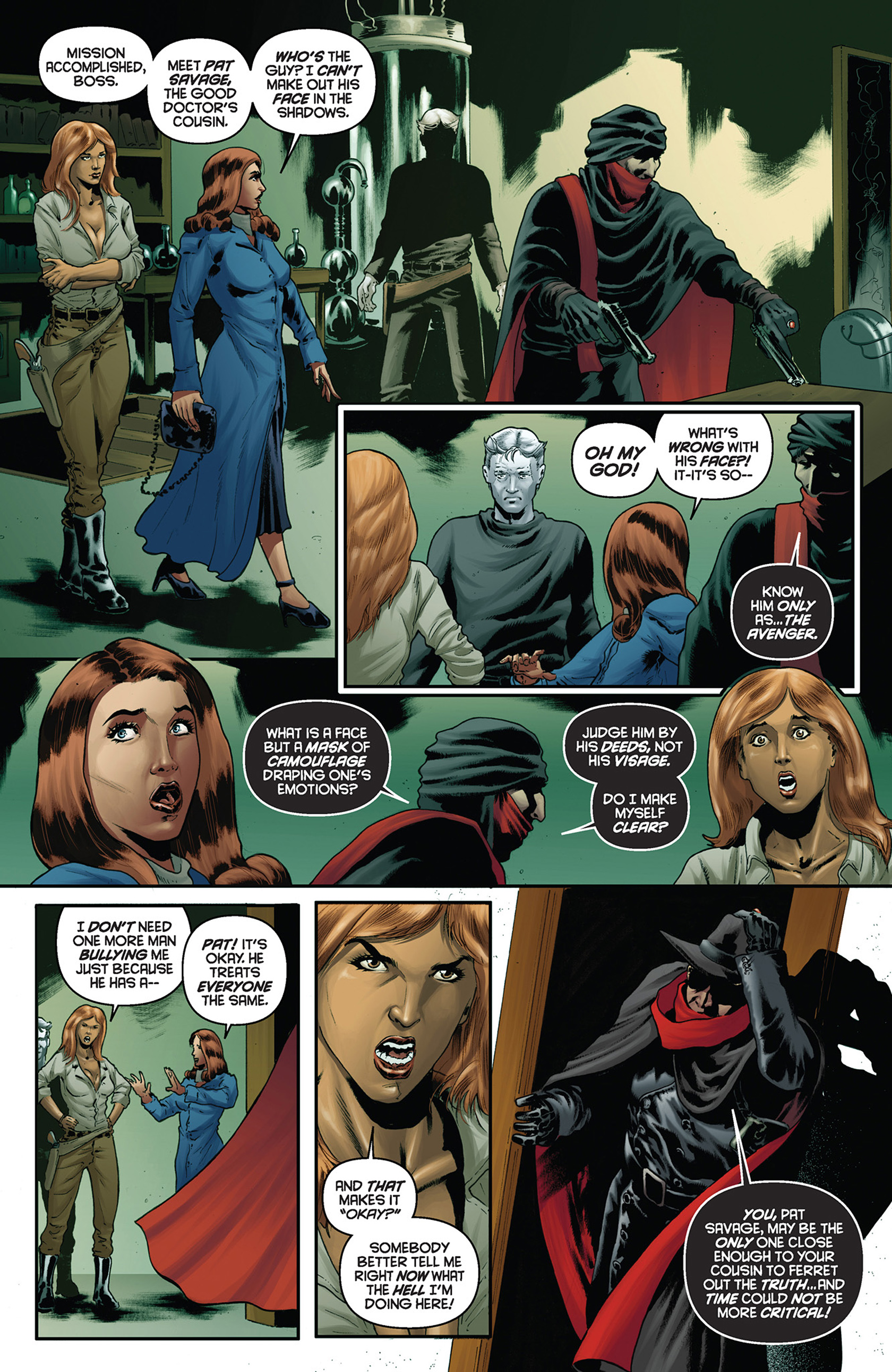 Read online Justice, Inc. comic -  Issue #5 - 8