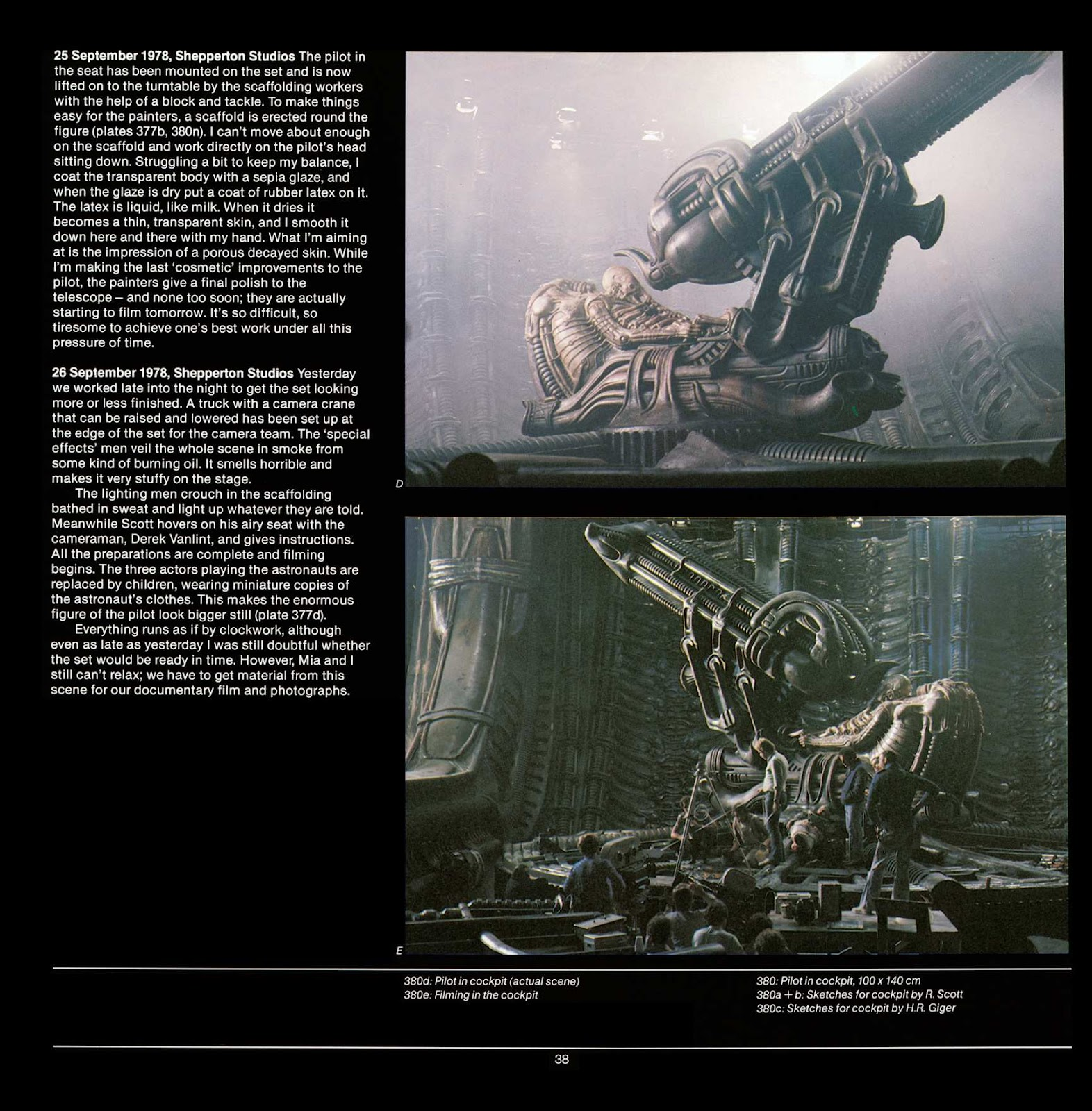 Read online Giger's Alien comic -  Issue # TPB - 40