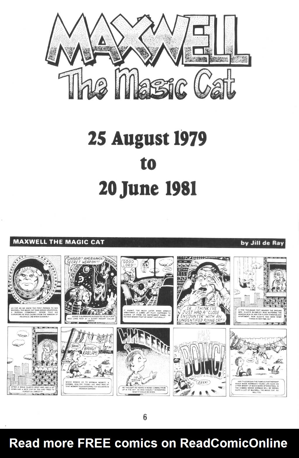 Read online Alan Moore's Maxwell the Magic Cat comic -  Issue #1 - 5