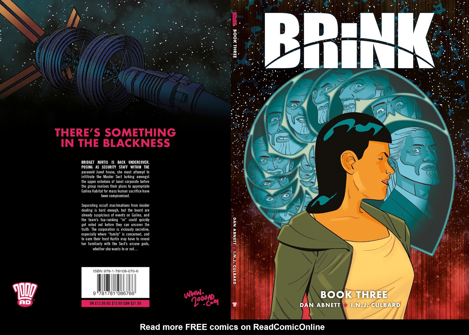 Read online Brink comic -  Issue # TPB 3 - 1