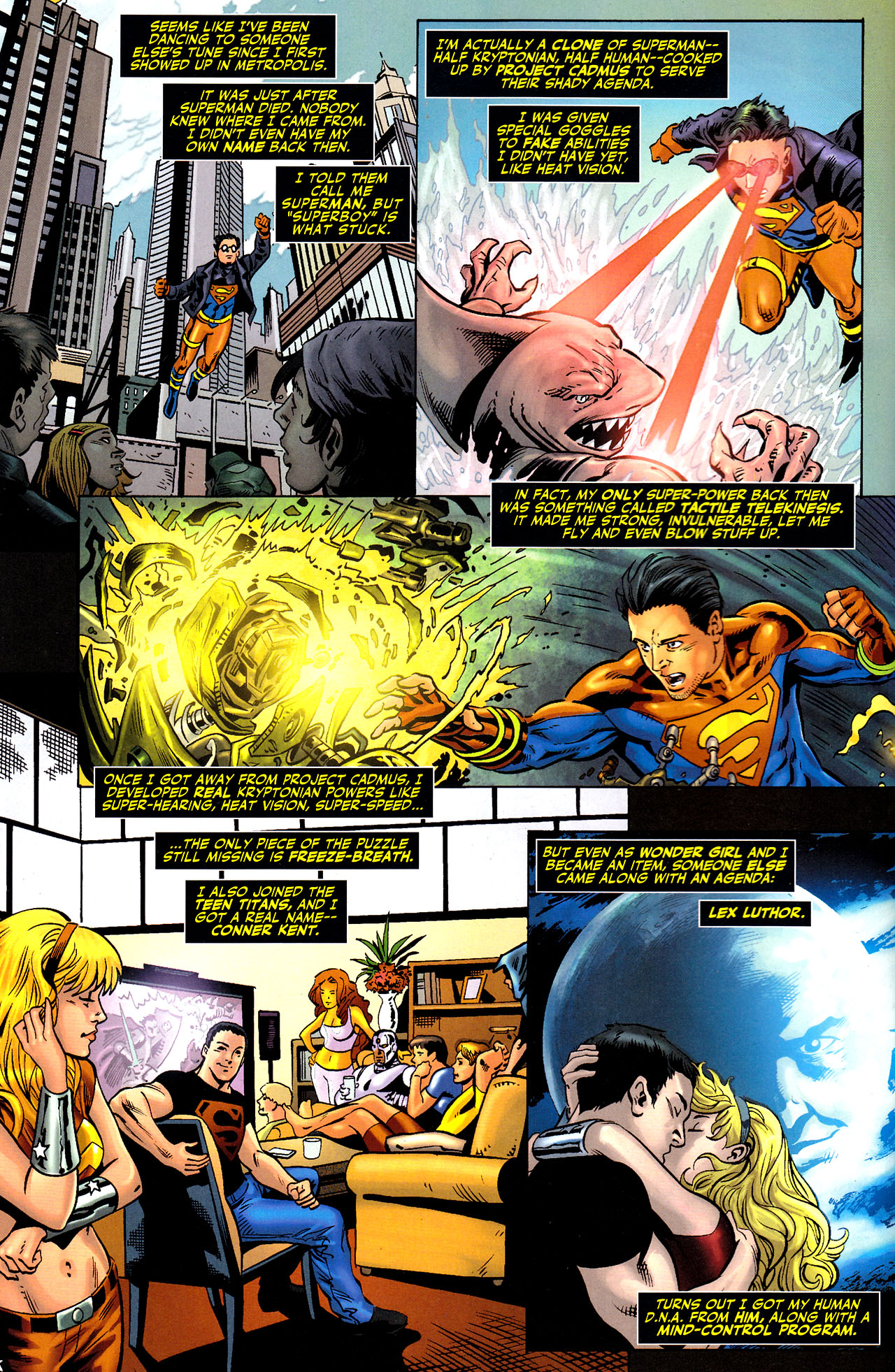 Read online Adventure Comics (2009) comic -  Issue #7 - 3