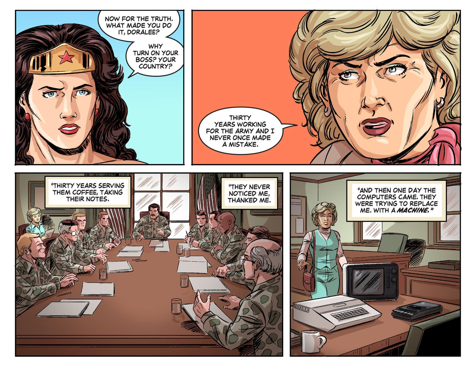 Read online Wonder Woman '77 [I] comic -  Issue #24 - 15