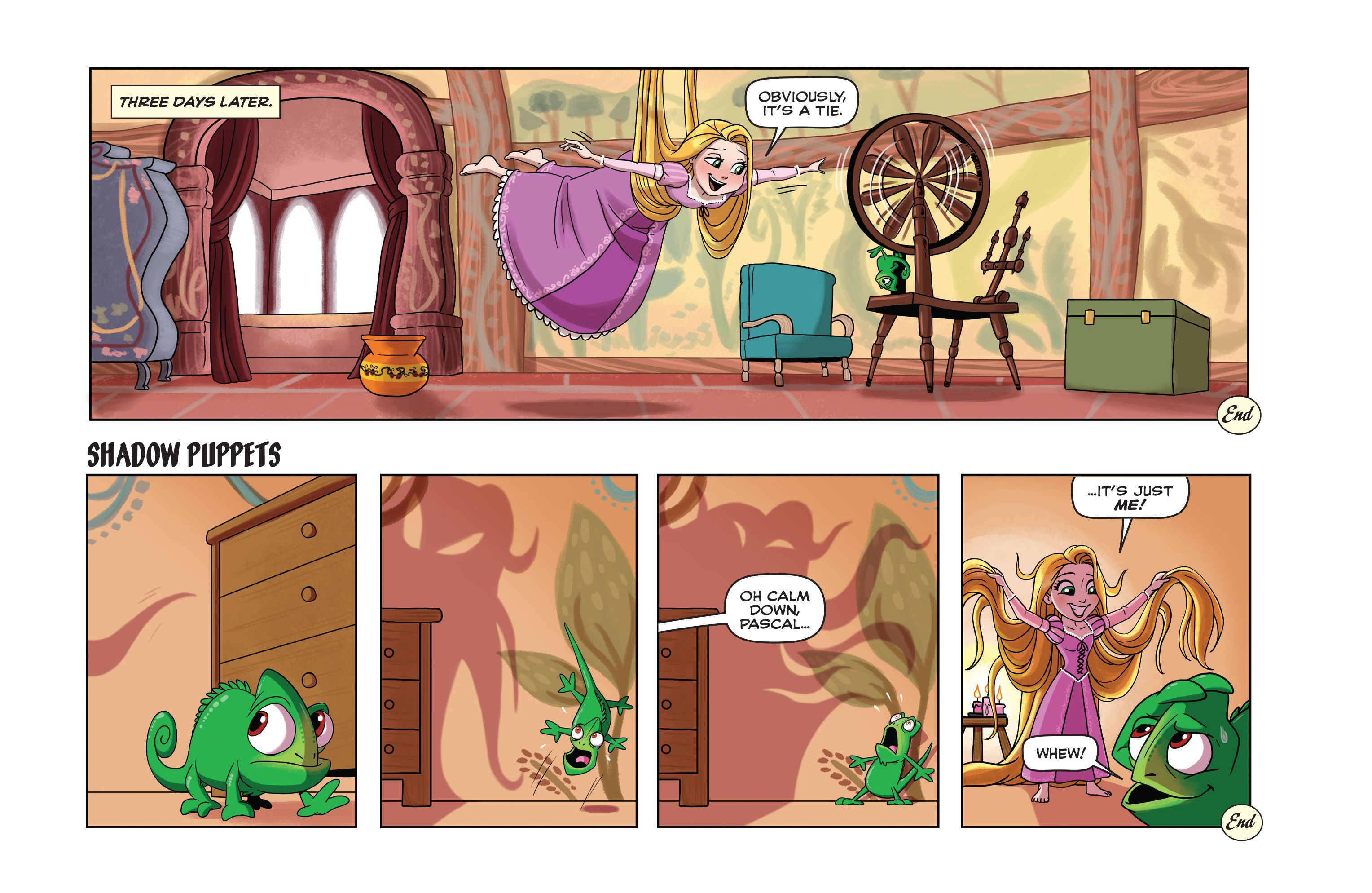 Read online Disney Princess comic -  Issue #9 - 23