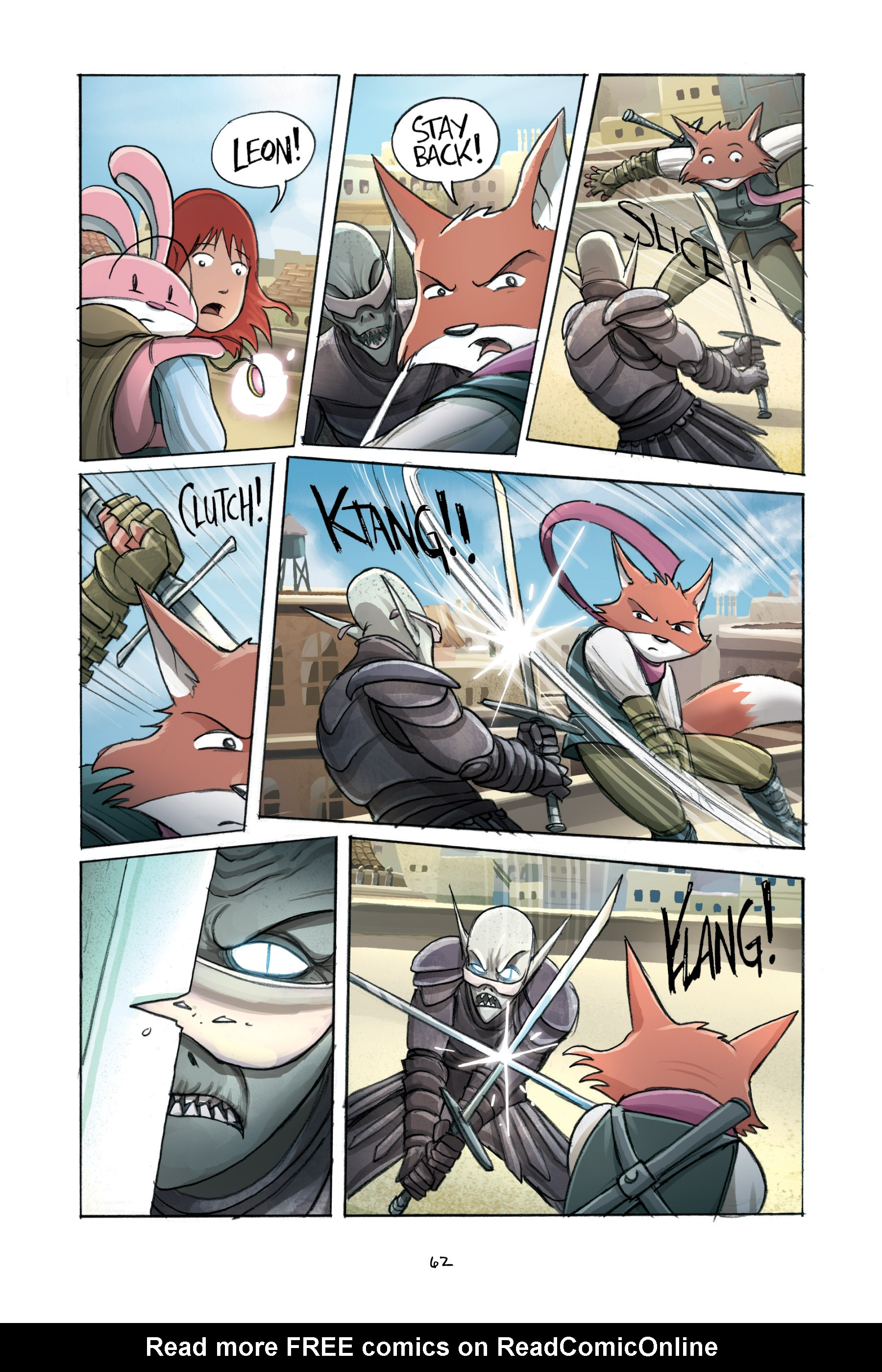Read online Amulet comic -  Issue #2 - 64