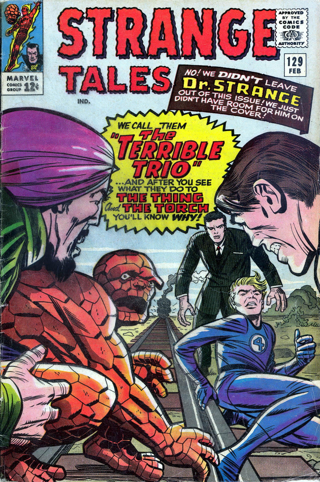 Strange Tales (1951) 129 Page 1