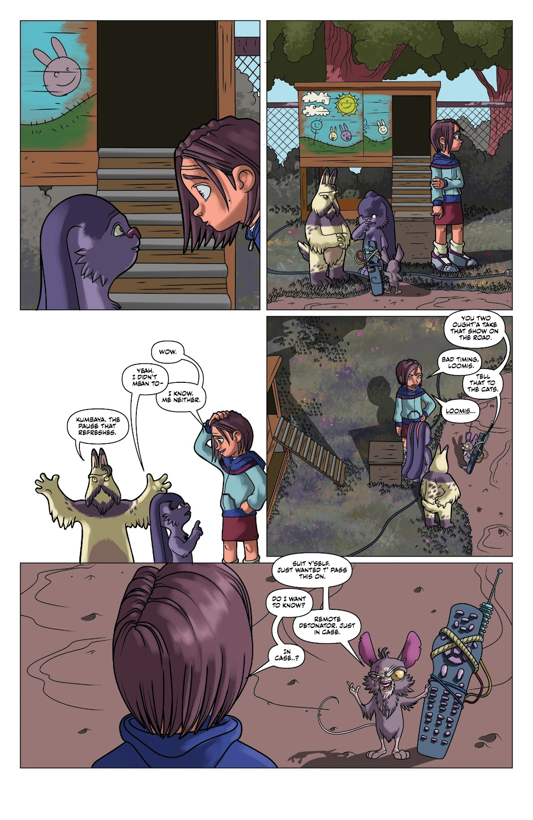 Read online Auntie Agatha's Home For Wayward Rabbits comic -  Issue #5 - 14