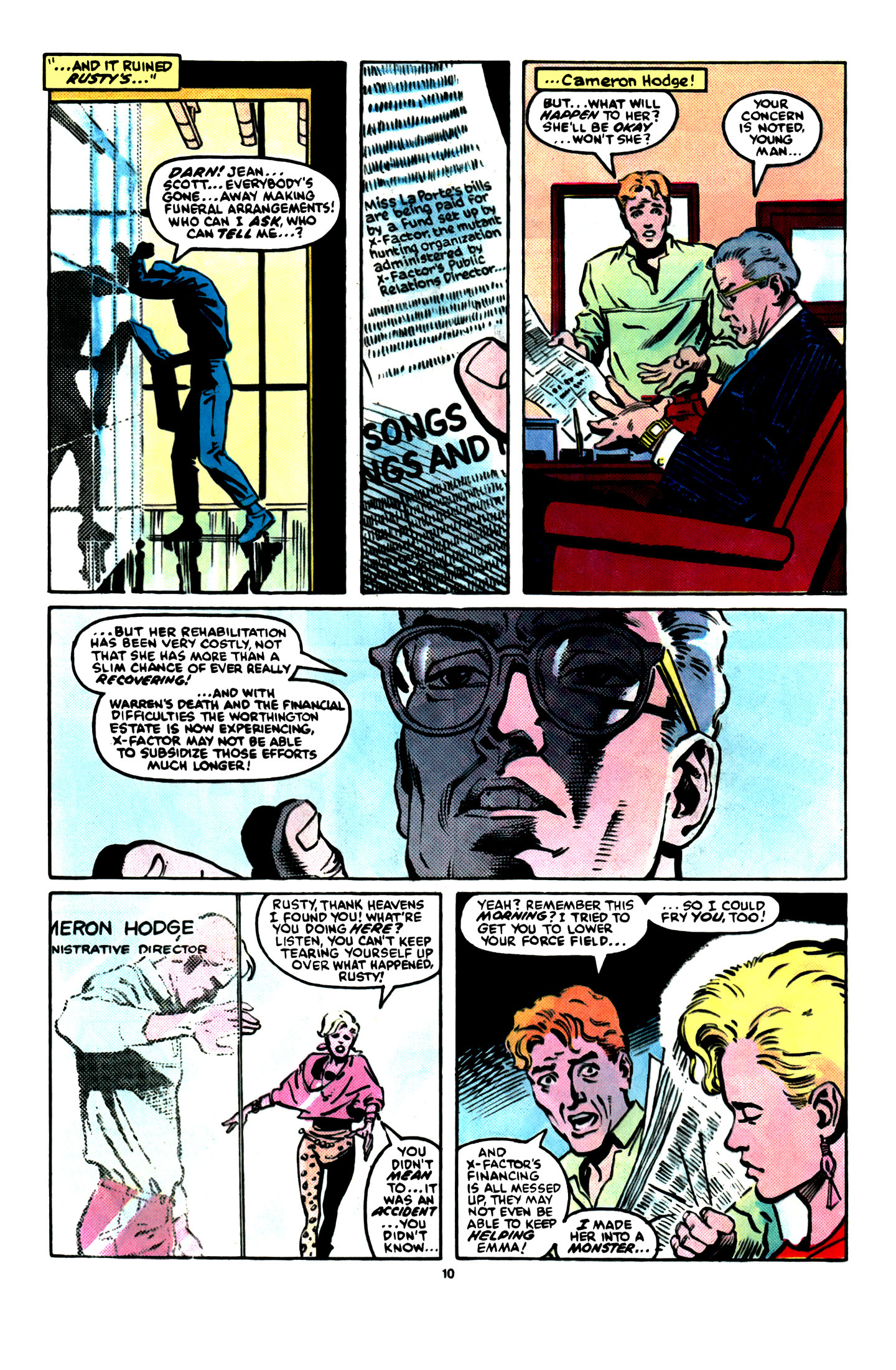 Read online X-Factor (1986) comic -  Issue #16 - 11