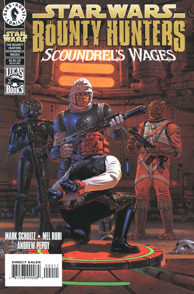 Star Wars: The Bounty Hunters issue Issue_Scoundrels_Wages - Page 1