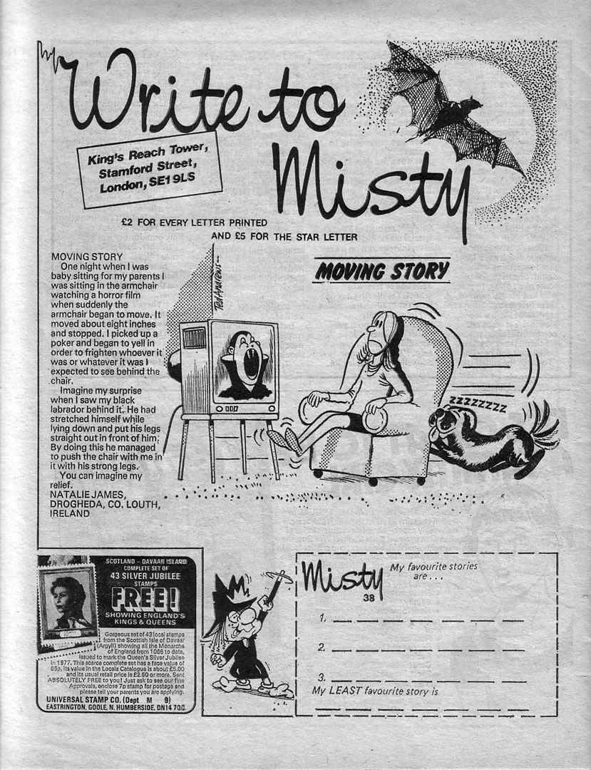 Read online Misty comic -  Issue #38 - 26