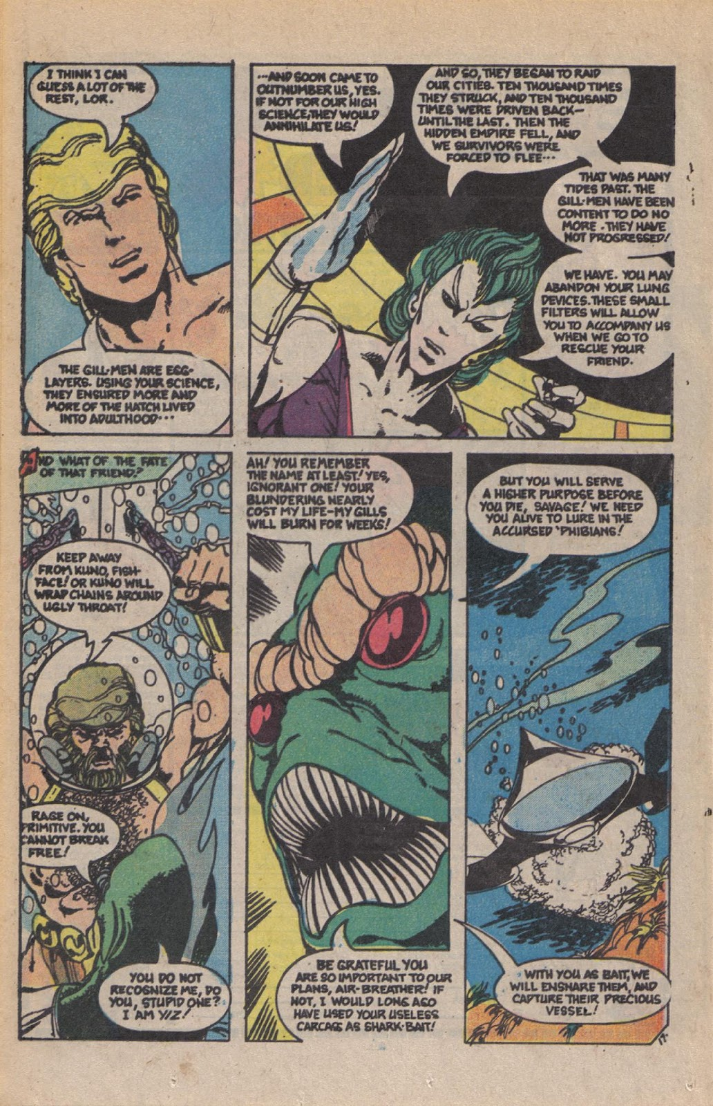 Read online Doomsday   1 (1975) comic -  Issue #10 - 23