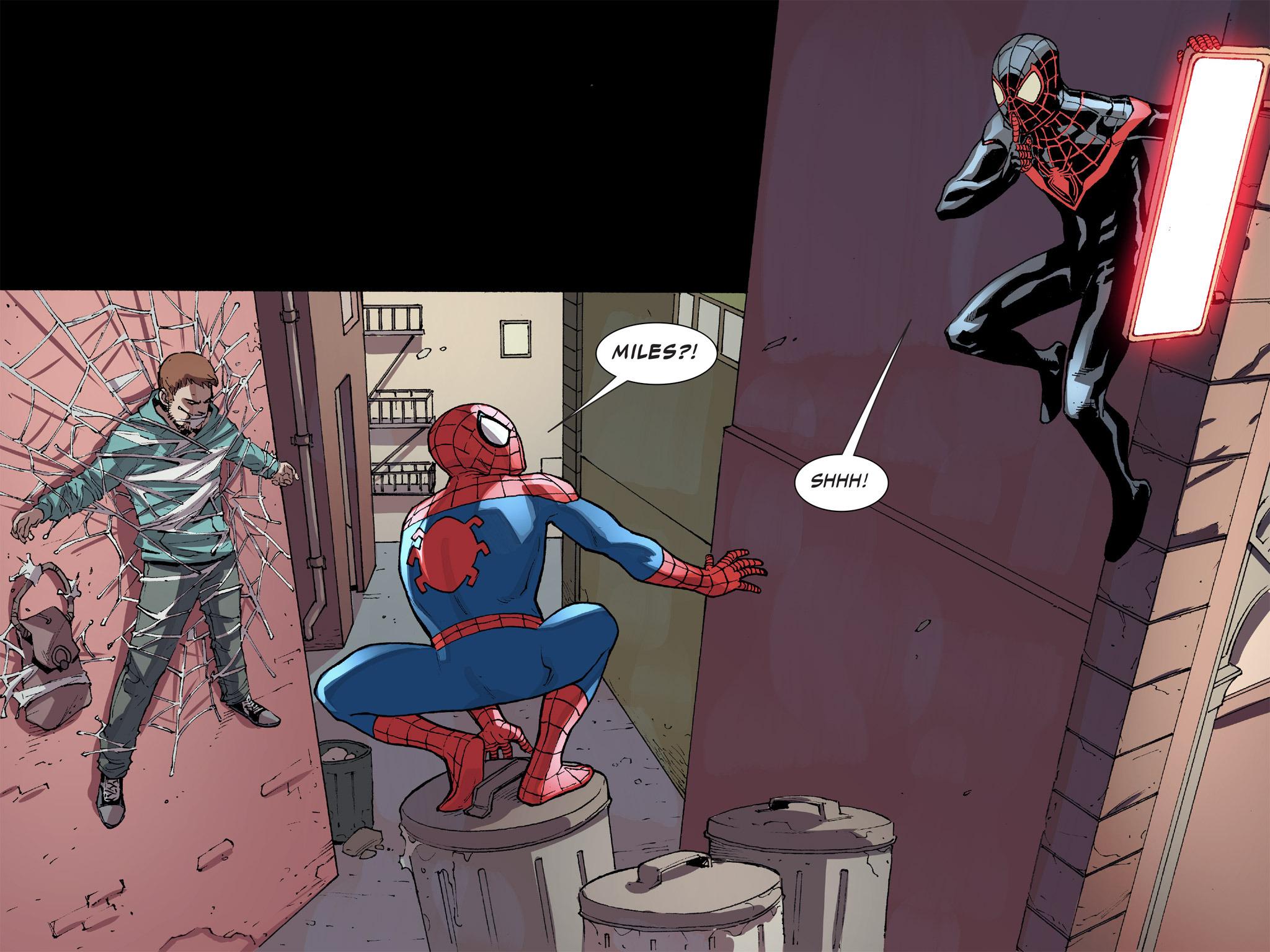 Read online Ultimate Spider-Man (Infinite Comics) (2016) comic -  Issue #8 - 14
