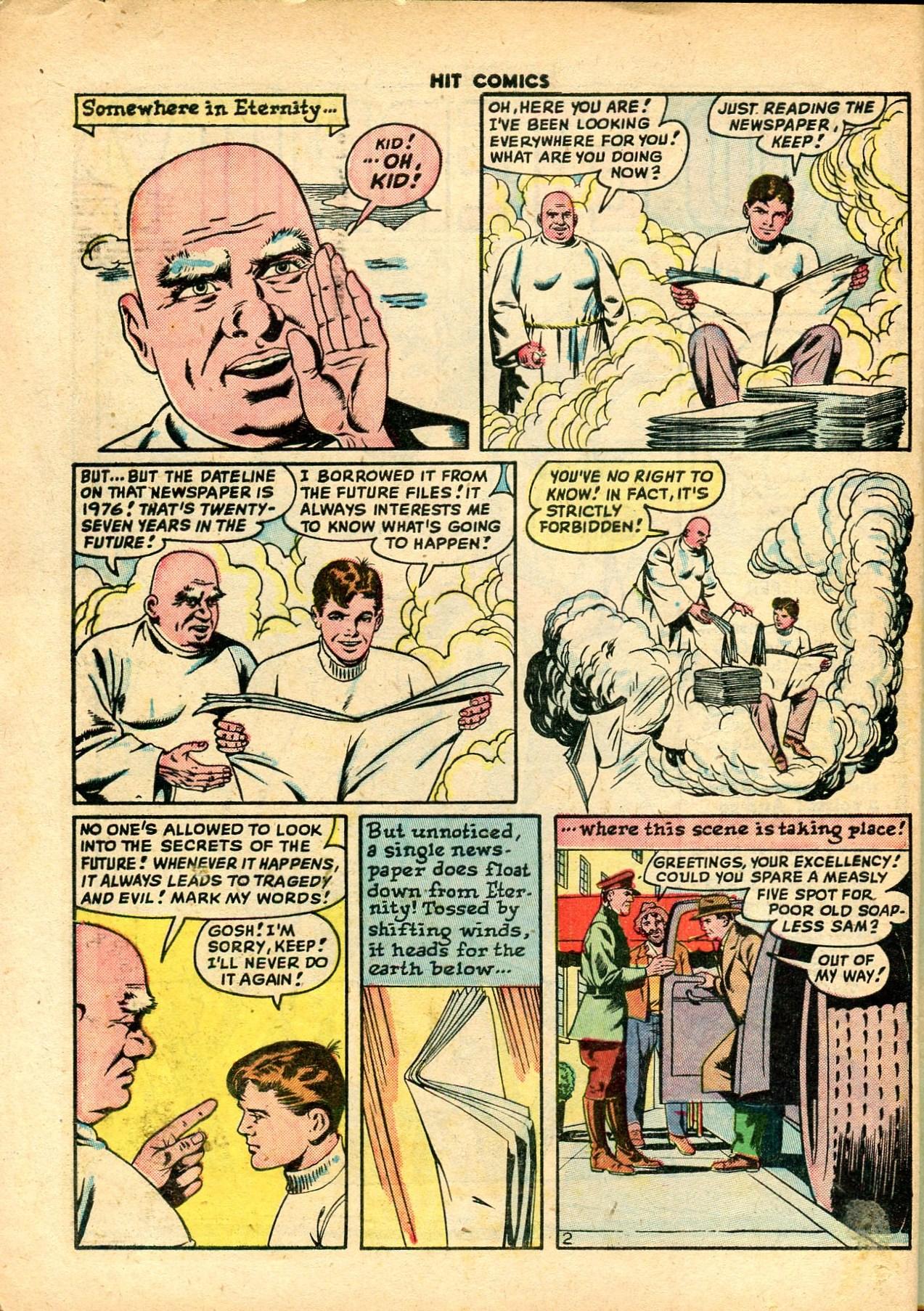 Read online Hit Comics comic -  Issue #59 - 4