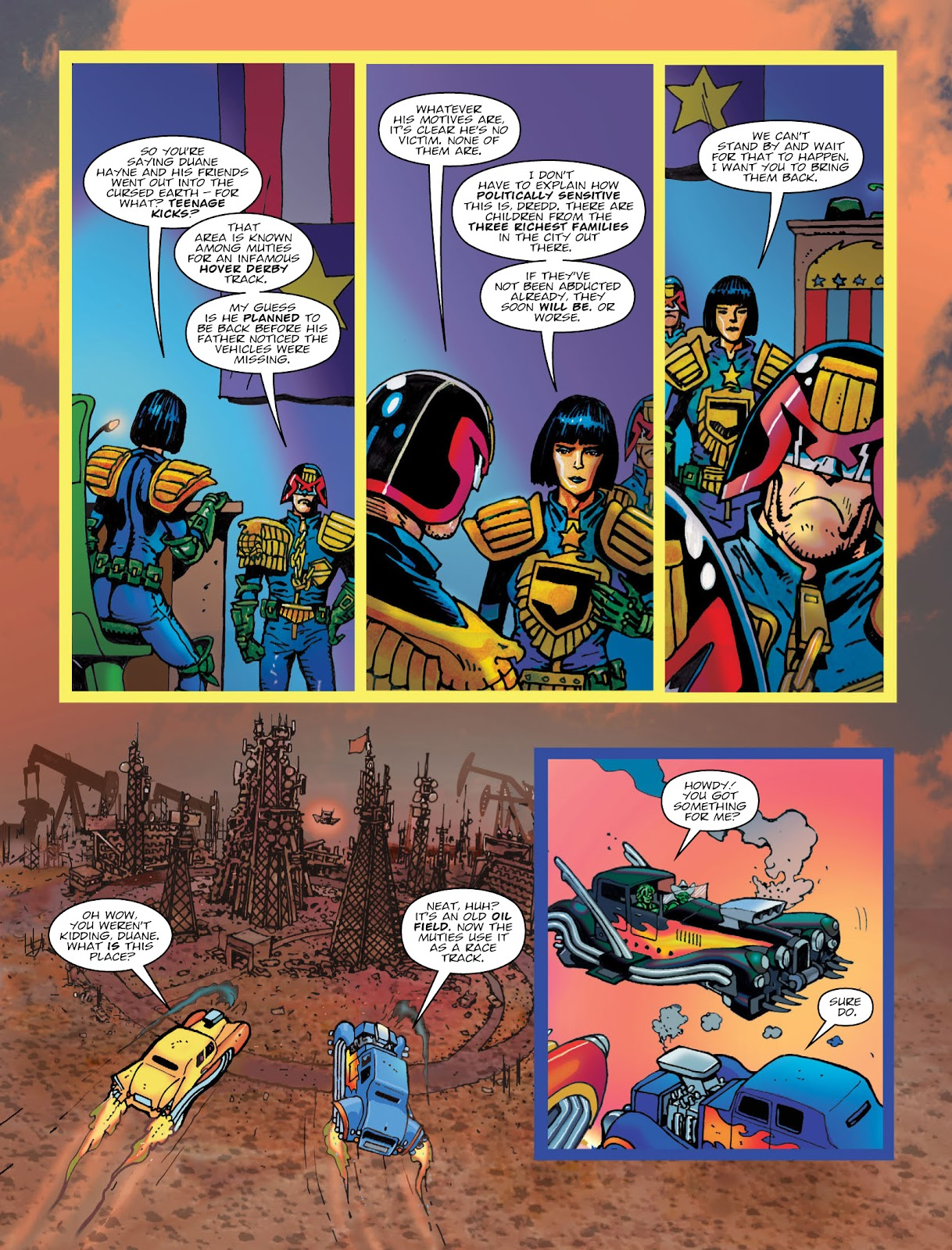 Read online 2000 AD comic -  Issue #2033 - 6