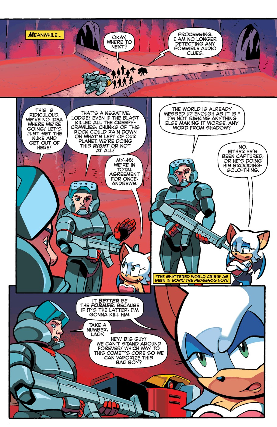 Read online Sonic Universe comic -  Issue #60 - 19